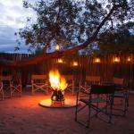 Boma Area for Safari Dining