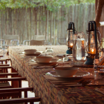 Dining Area at Africa on Foot