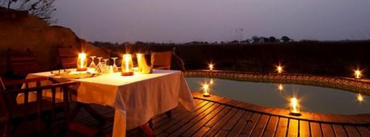 Mapula Lodge at Night