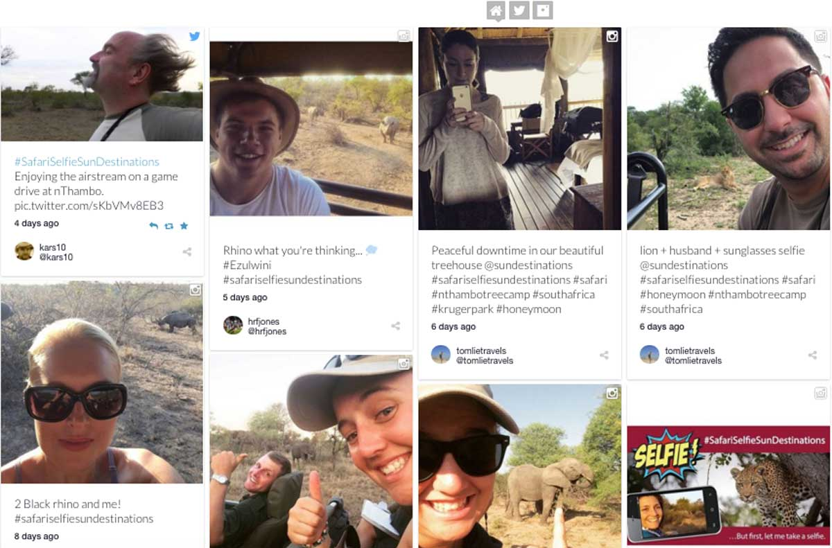 Can You Take a Better Safari Selfie Than These Guests?