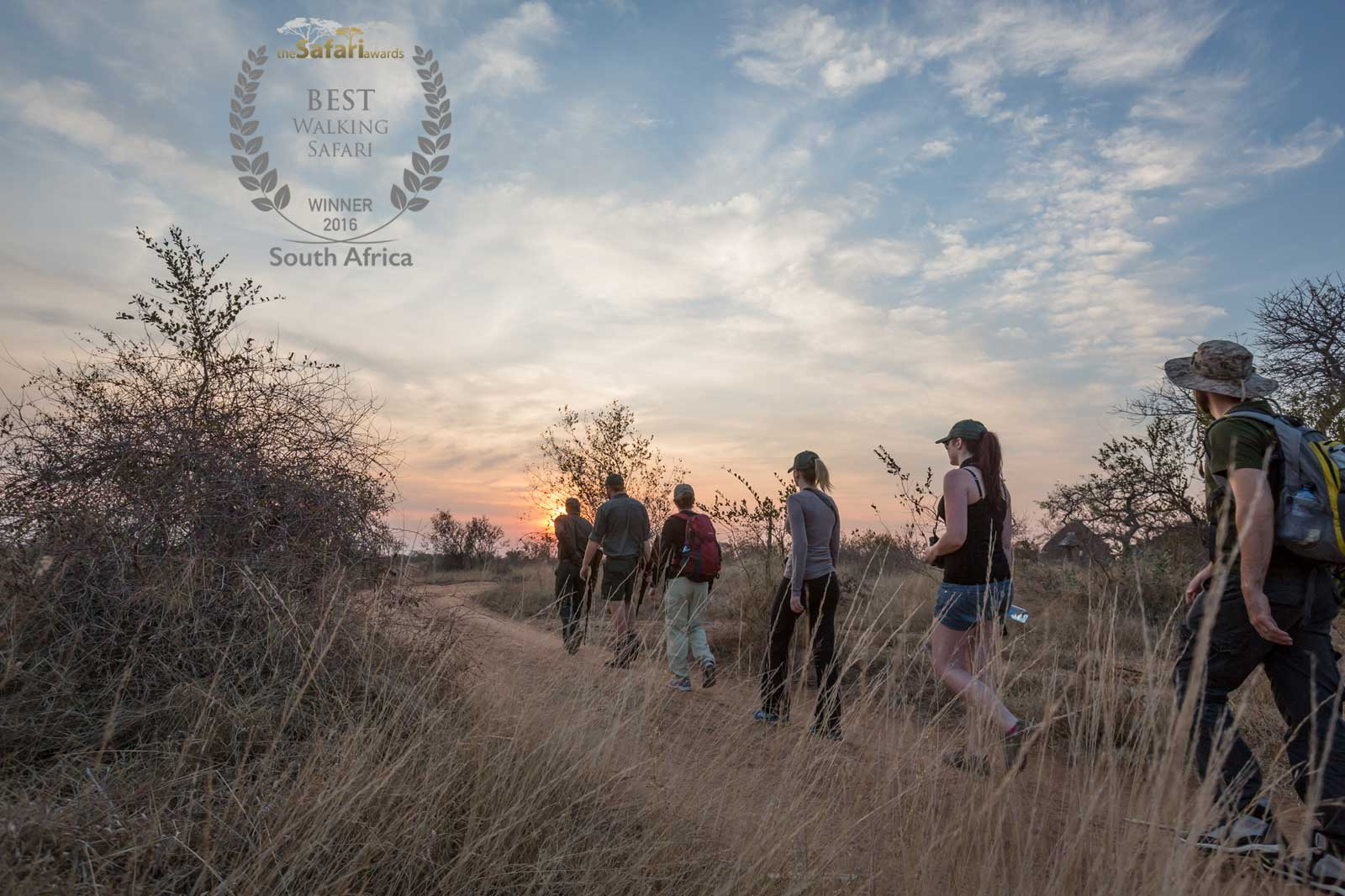 Africa on Foot Winner of Best Walking Safari in 2016