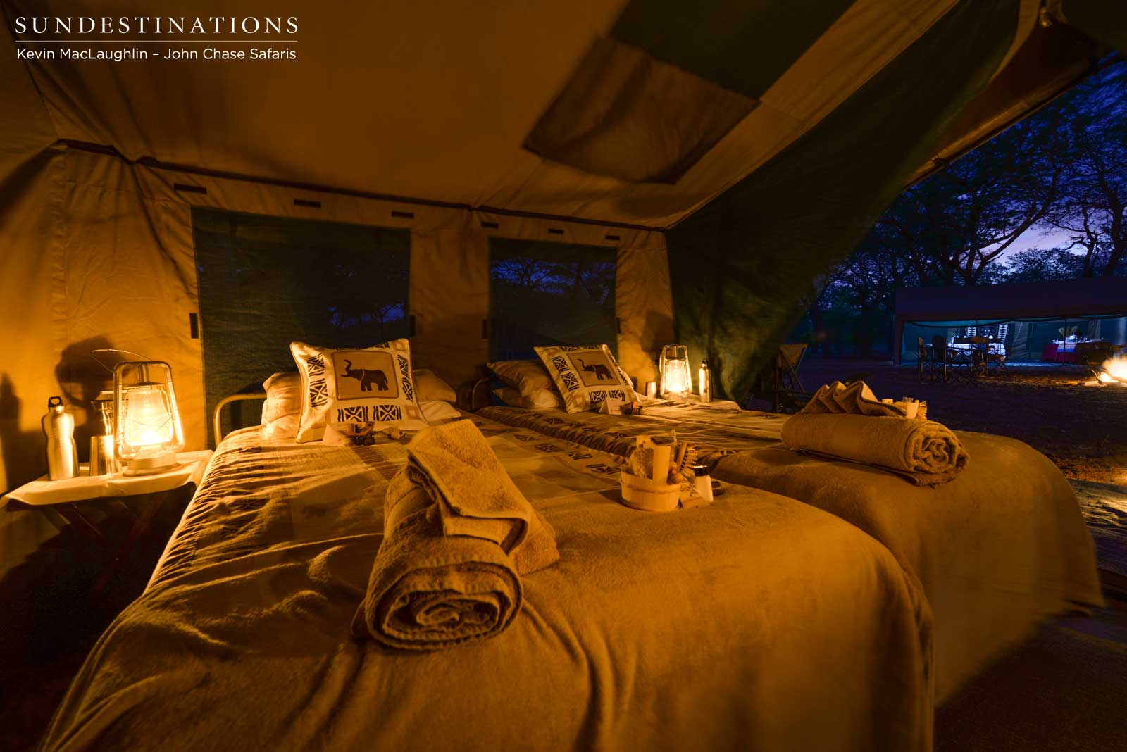 Luxury Camping in Chobe with John Chase Safaris