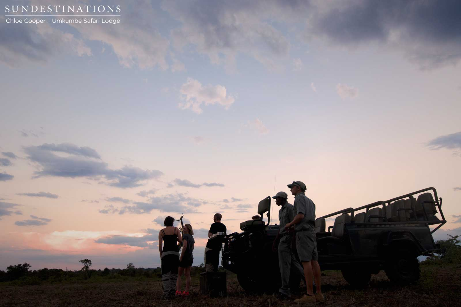 Elephants, Sundowners & Rain at Umkumbe Safari Lodge!