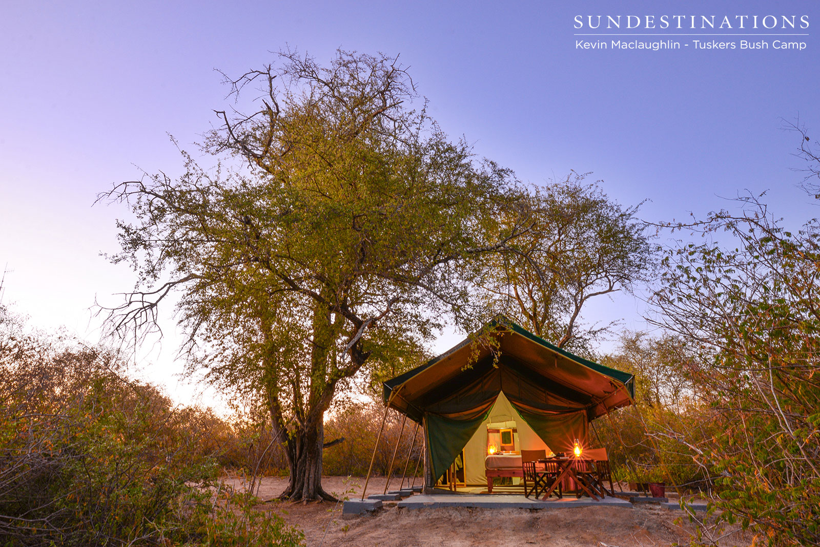 Tuskers Bush Camp: Sunsets and Skies
