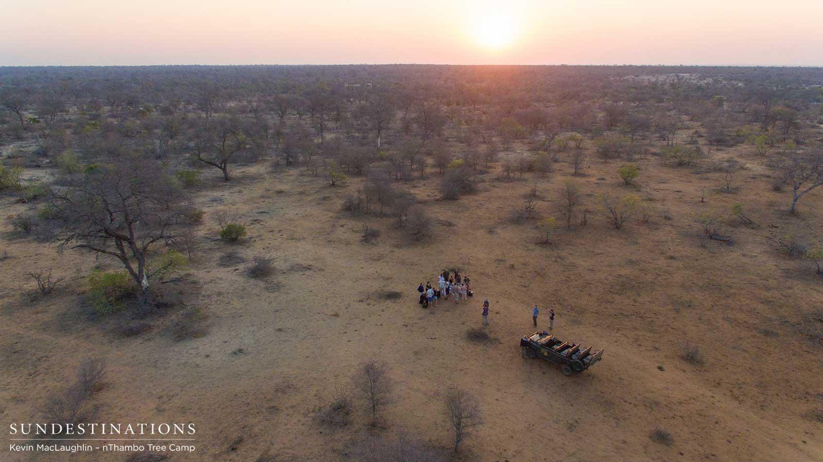Wine Tasting in the Kruger Wilderness