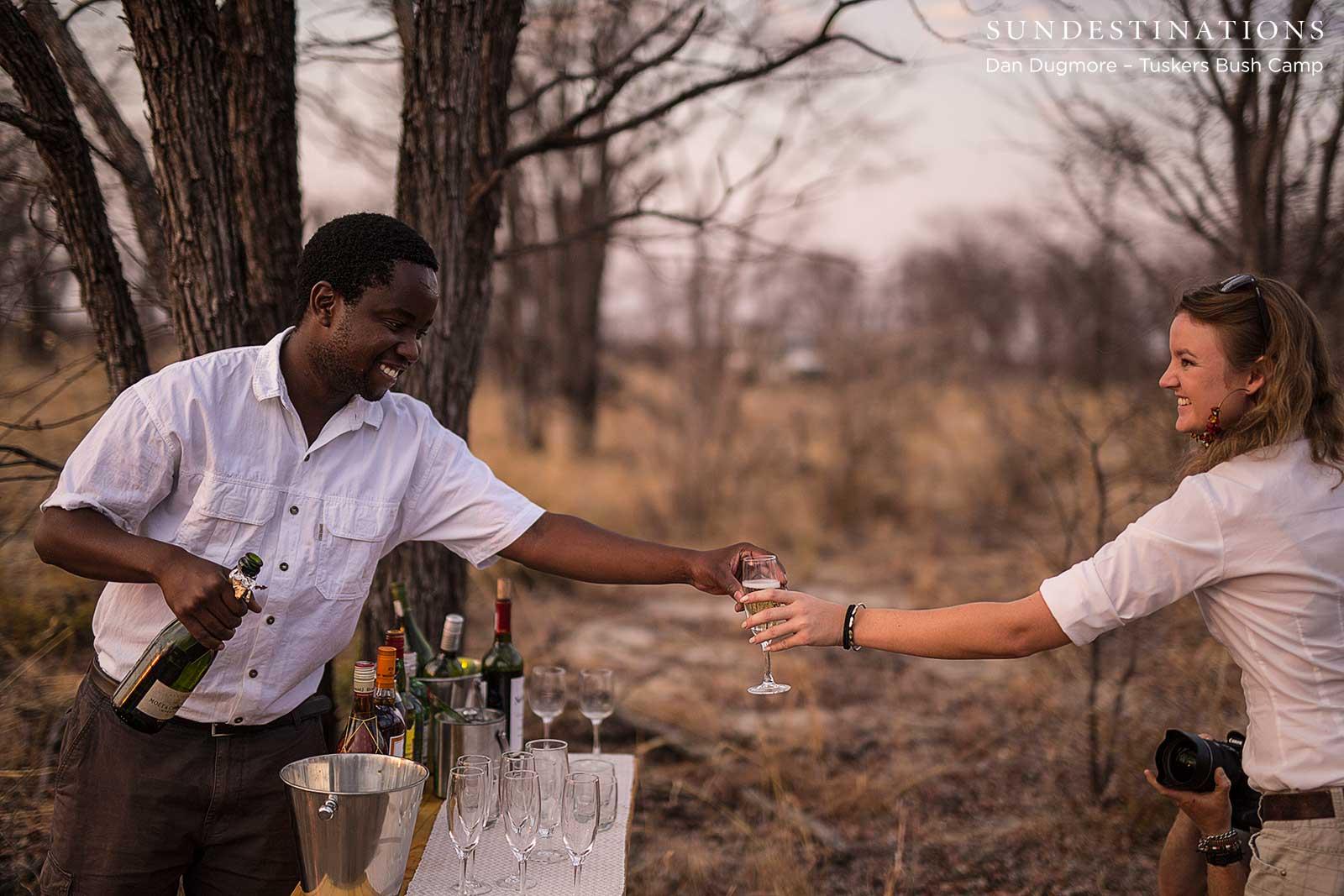 Baobab Bush Dinner at Tuskers