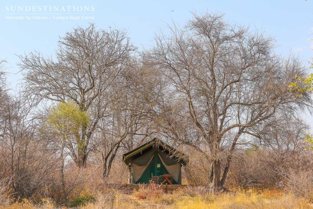 Tuskers Bush Camp tented suite
