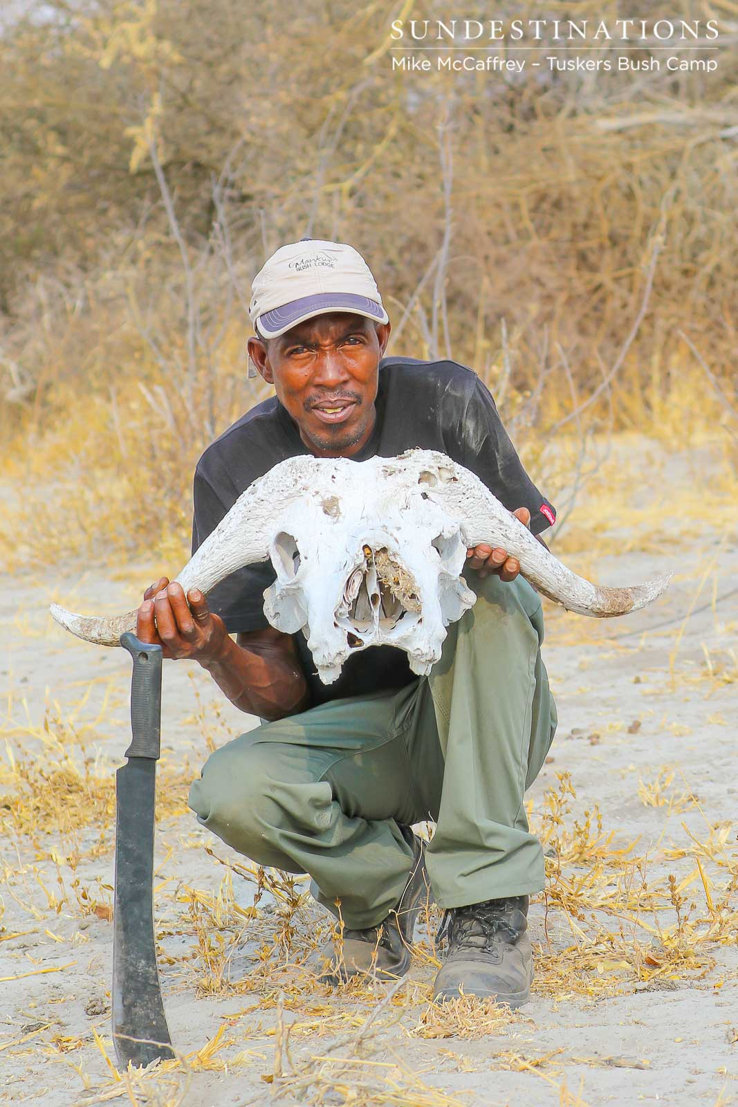 Learning to Track Wildlife in Botswana at Tuskers Bush Camp