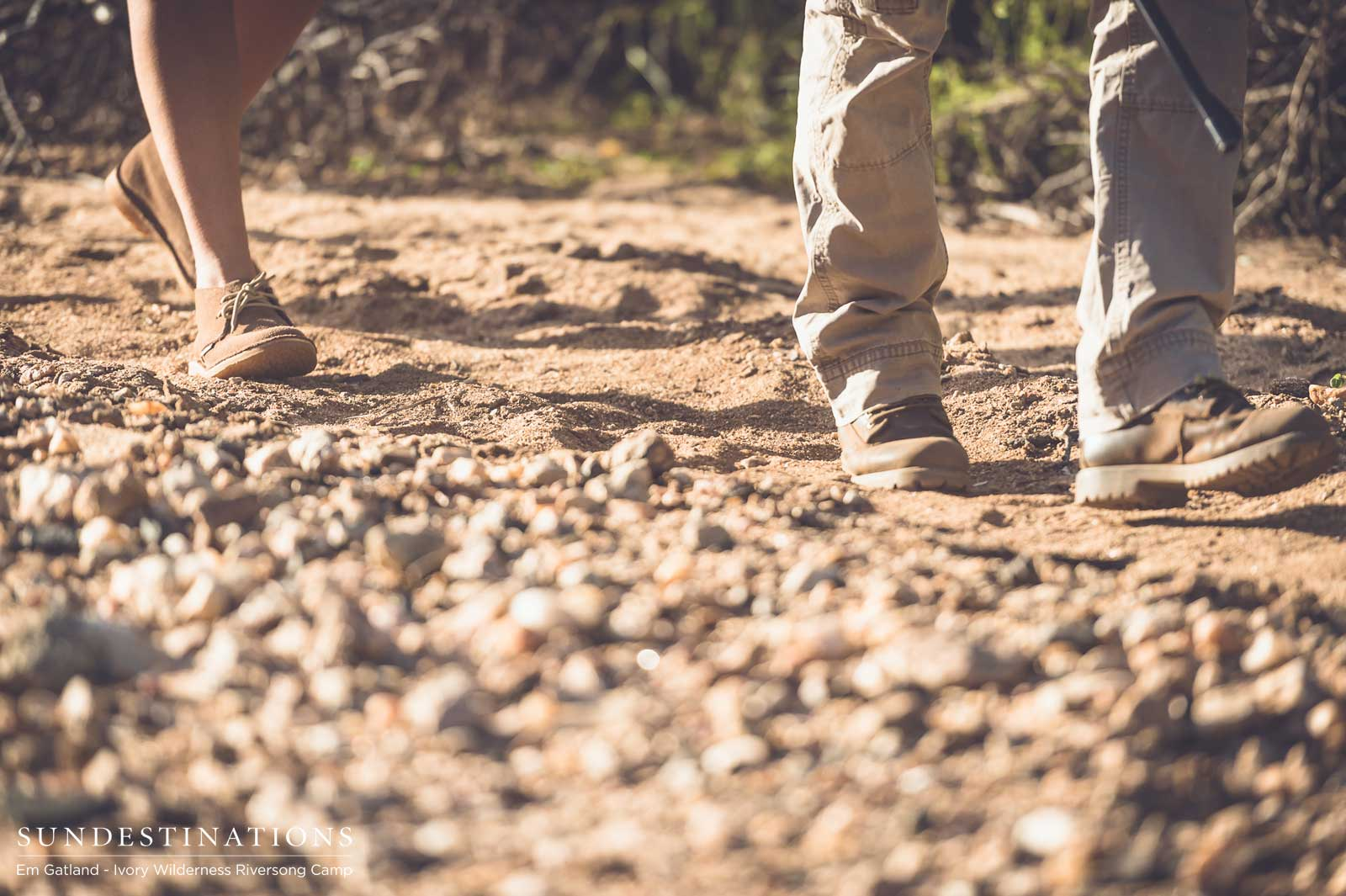 Ivory Wilderness Riversong Camp Walking Trails in Klaserie