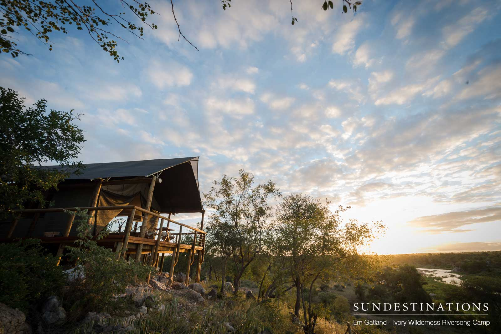 Lodge Luxury with River Views at Ivory Wilderness Riversong Camp