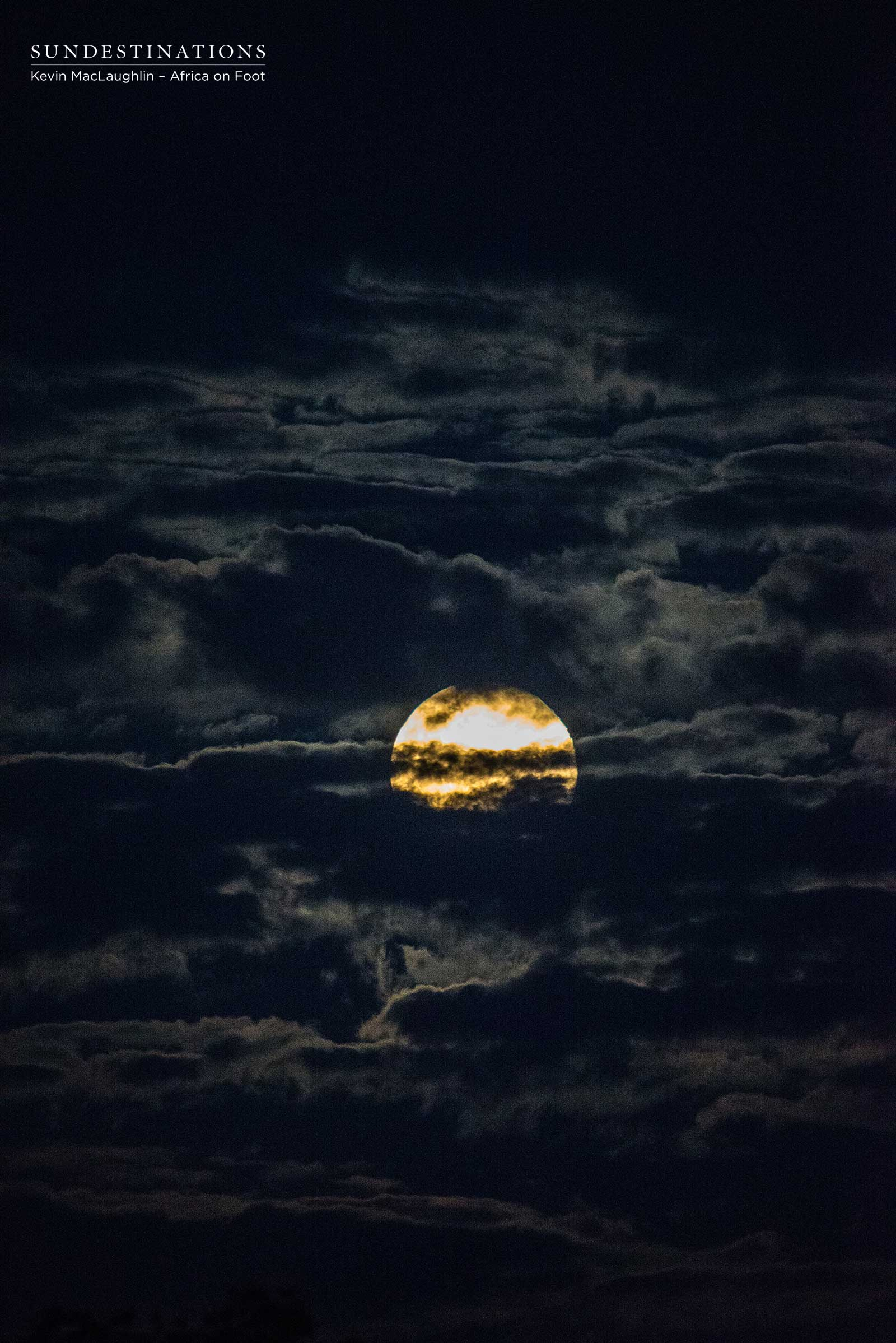 Moon at Africa on Foot