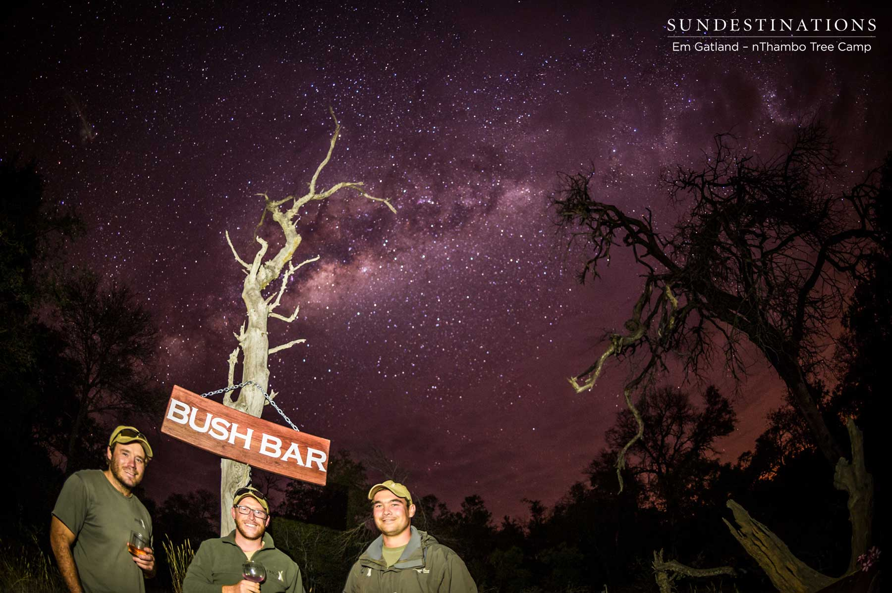 The Boys who Built the Bush Bar