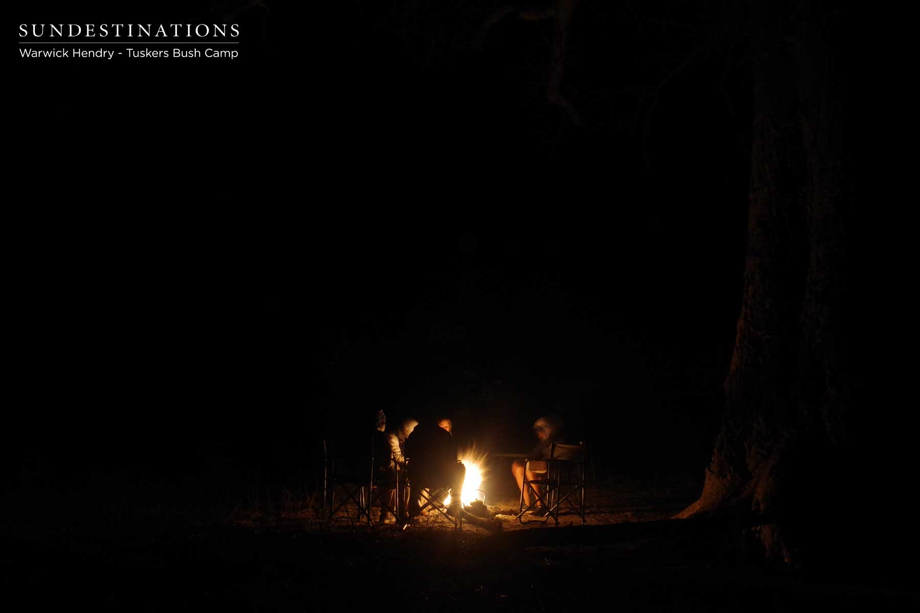Tuskers Bush Camp Fire