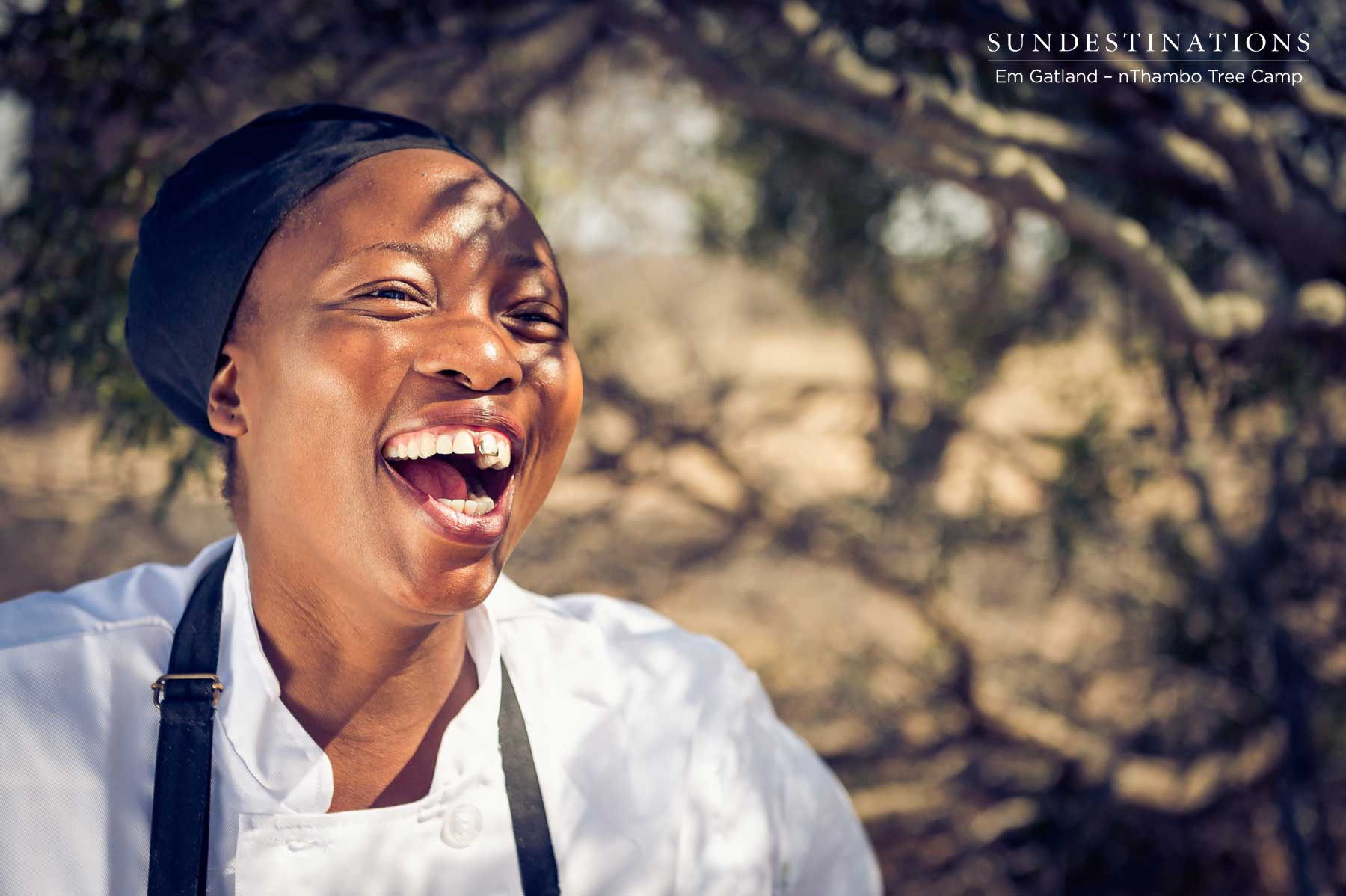 National Women's Day in South Africa : Meet Melita the Chef from nThambo