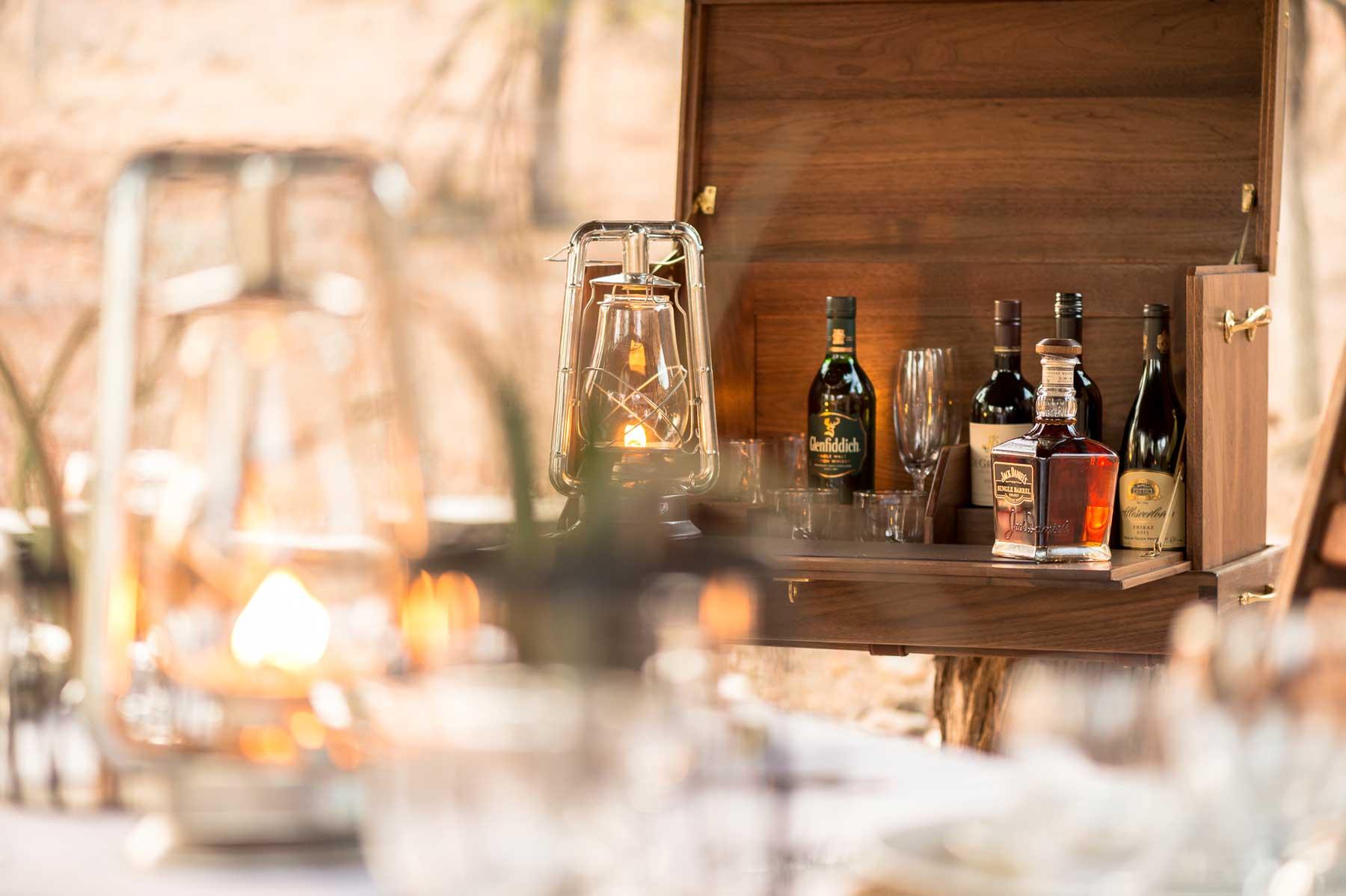 Bar at Chacma in Maseke