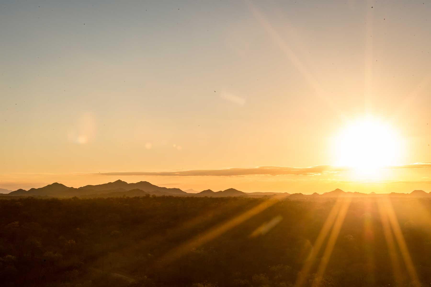 Our Honeymoon Sundowner Experience with a Classic Melvill & Moon Safari Set-up