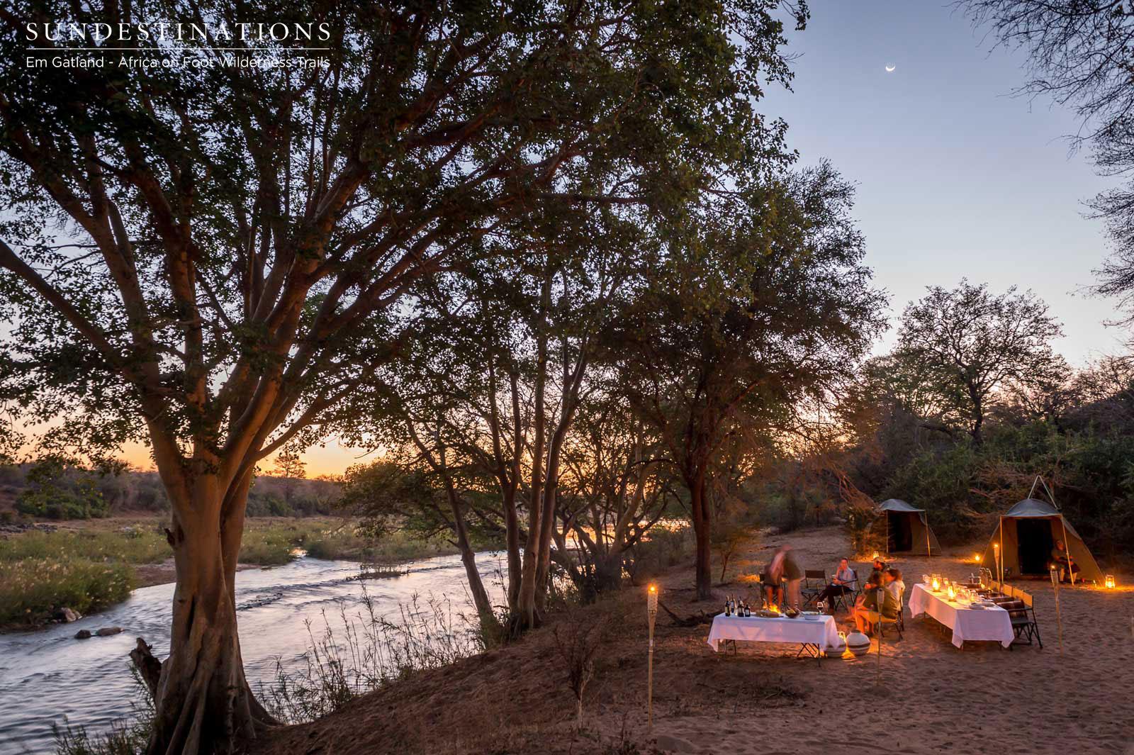 Evening Campfires Trails