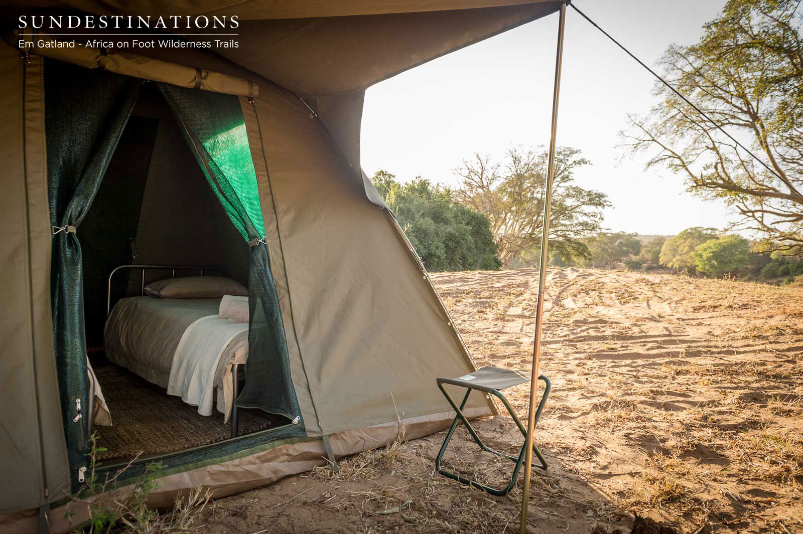 Africa on Foot Camping