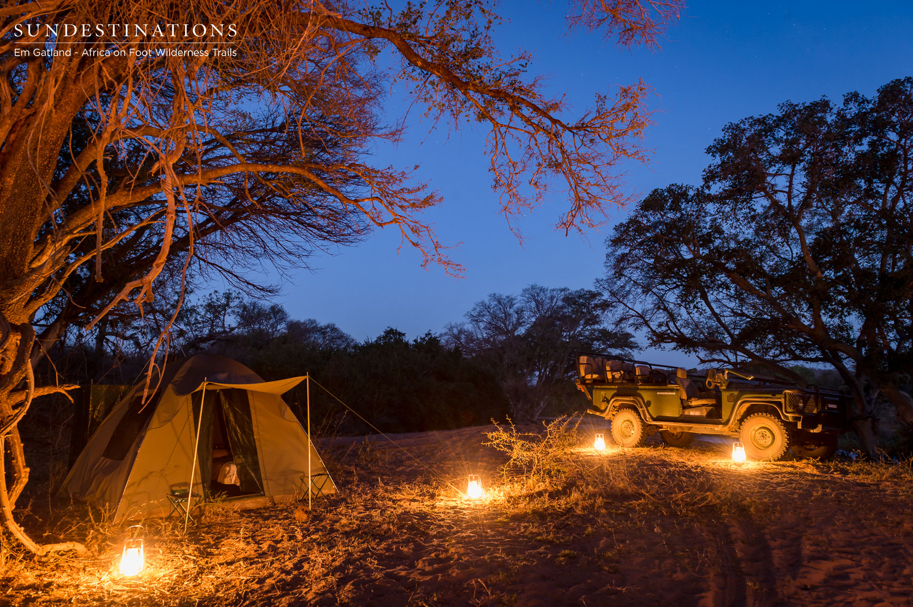 Camp Life at Africa on Foot Wilderness Trails