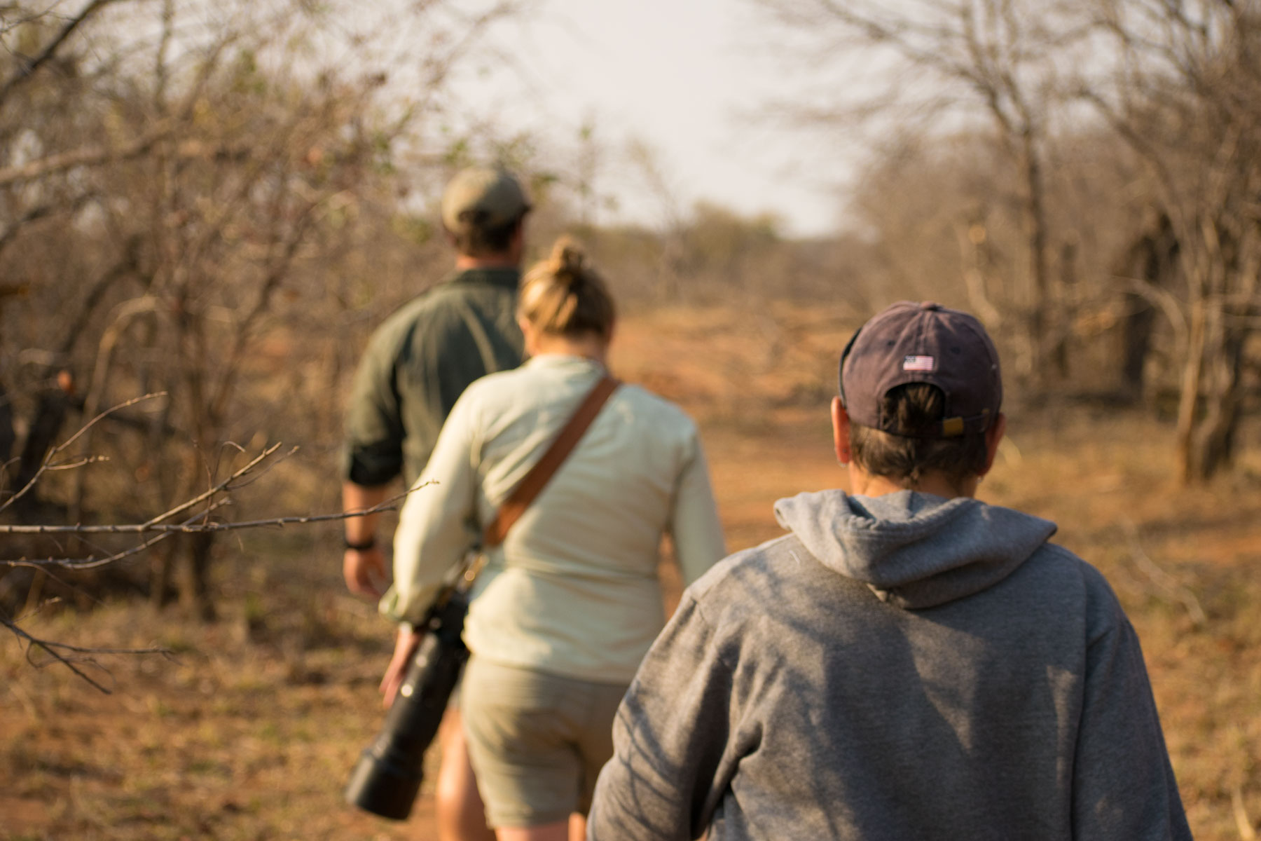 Walking Trail Africa on Foot