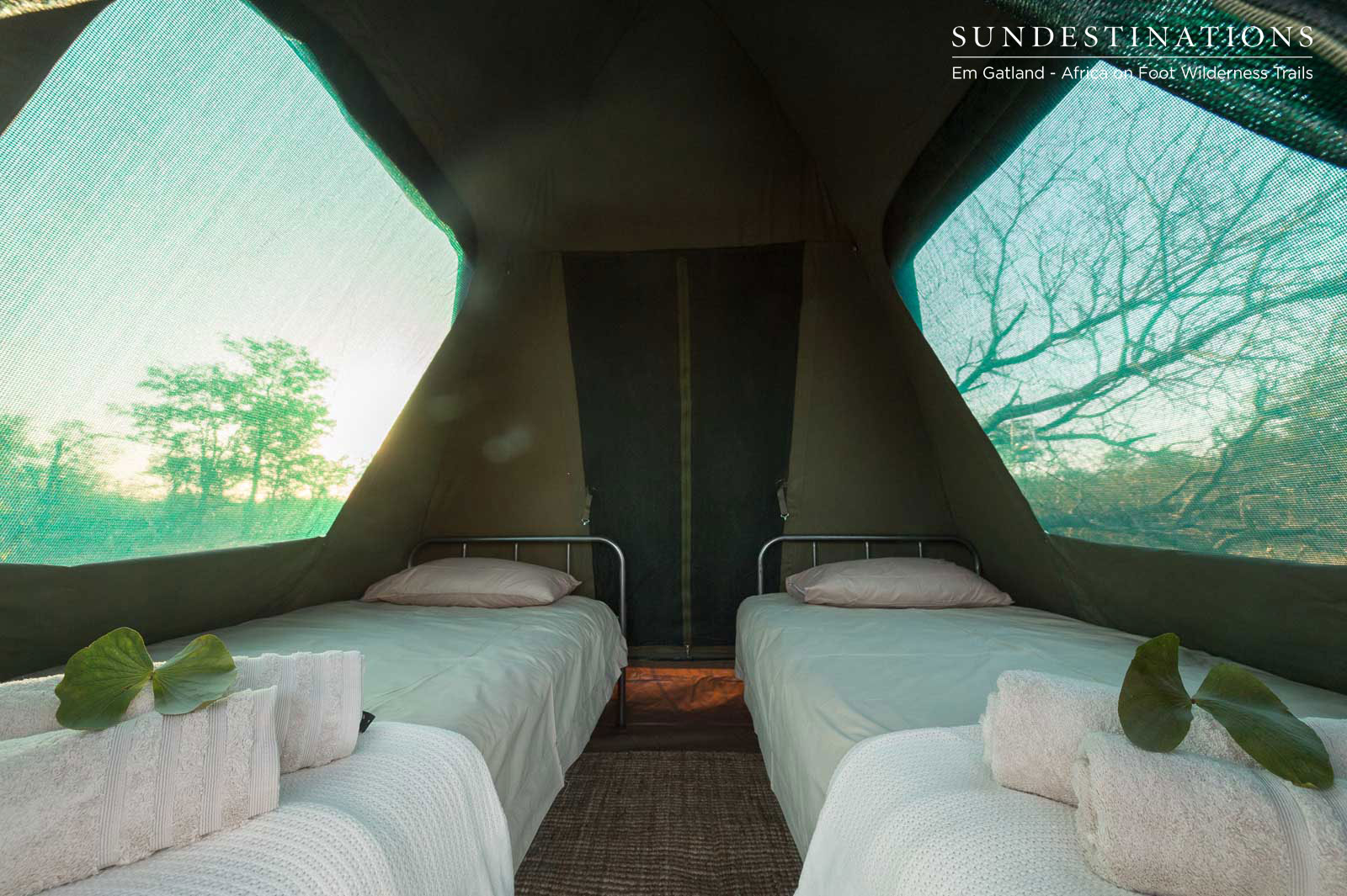 Dome Tents Twin Beds