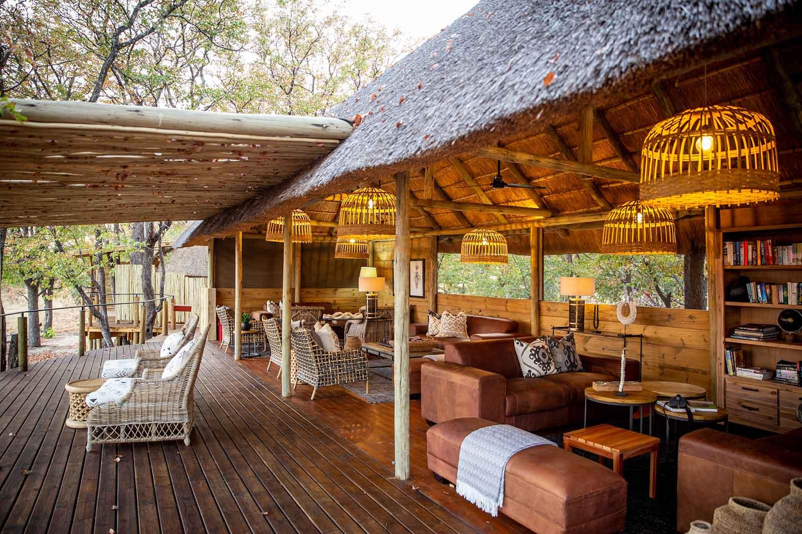 Mankwe Tented Retreat Lounge Area