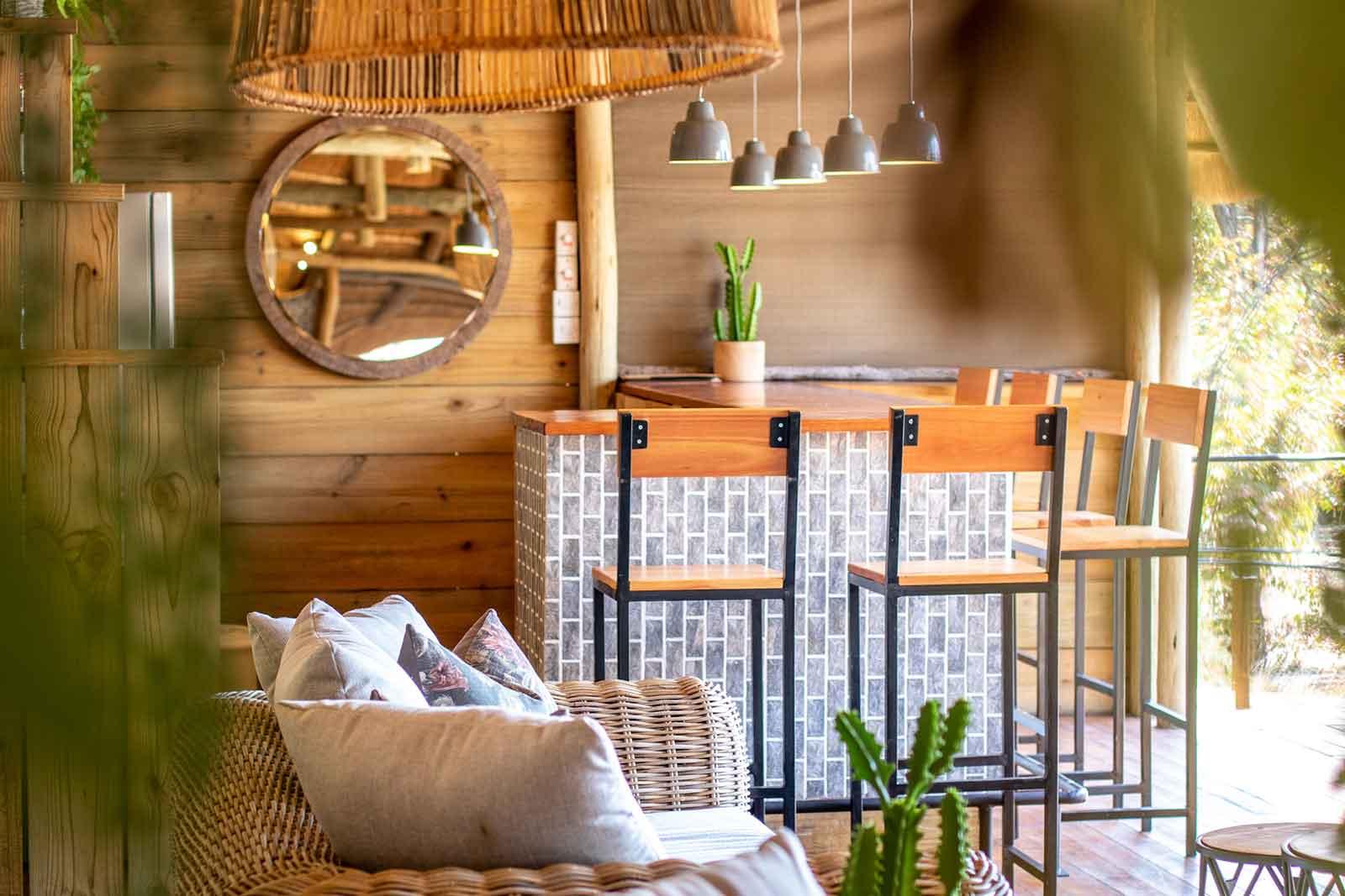 Mankwe Tented Retreat Bar Area