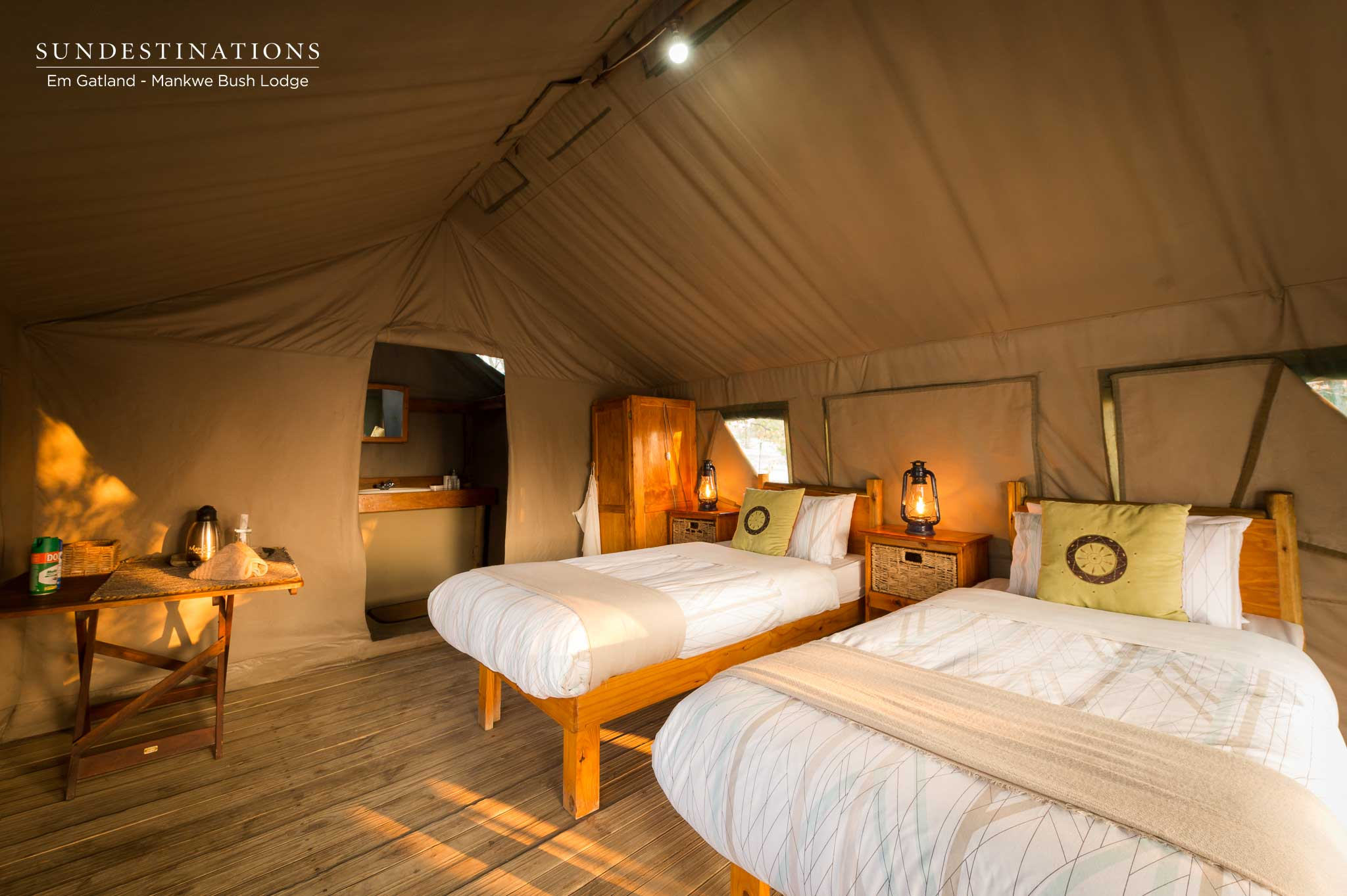 Mankwe Bush Lodge Tent