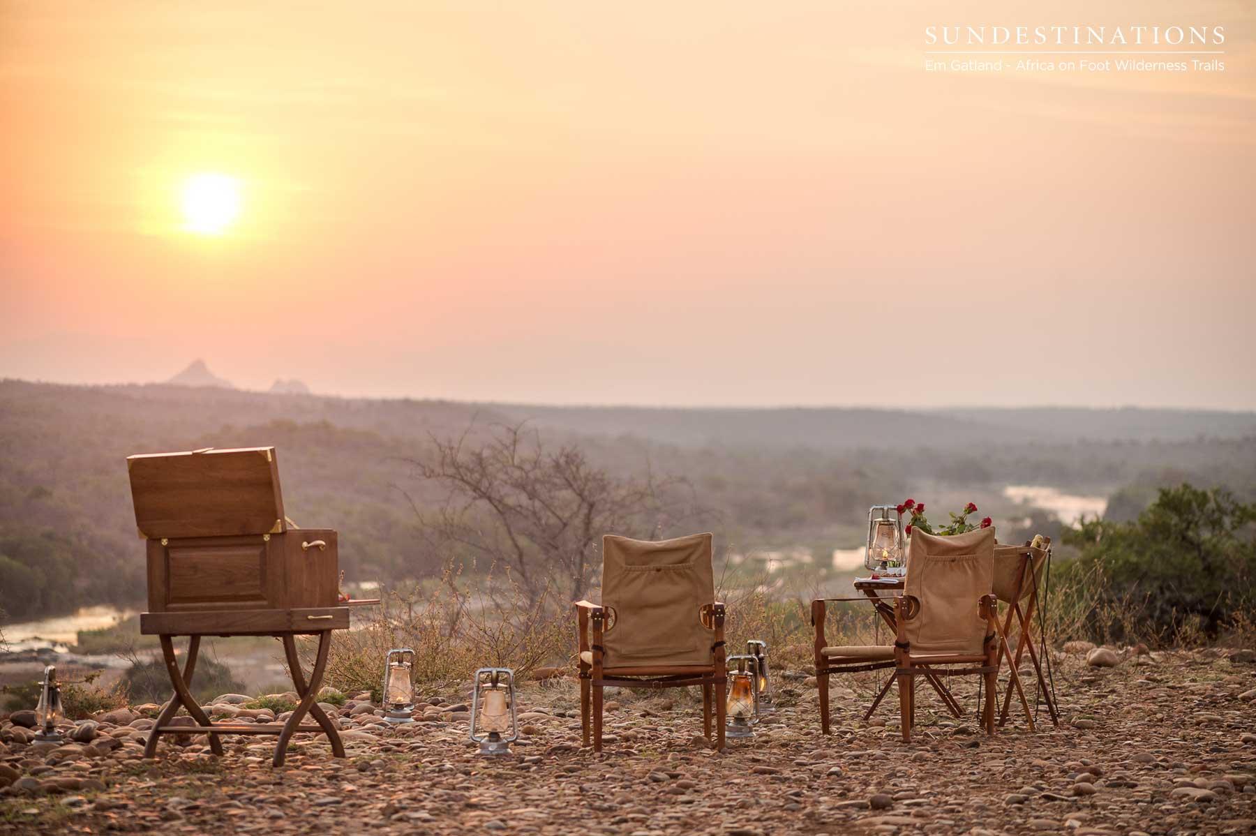 Koppie in Maseke Reserve