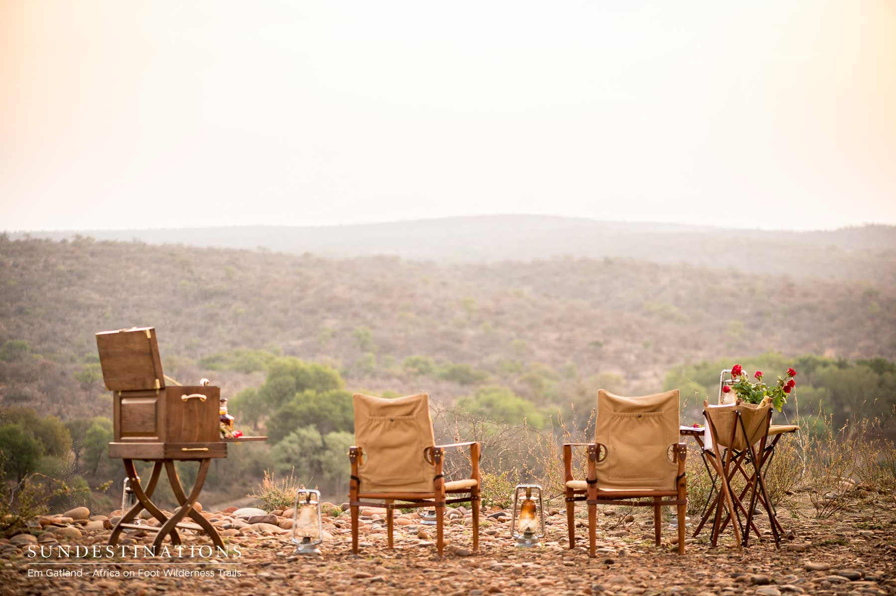 Sundowners In Maseke Balule Reserve