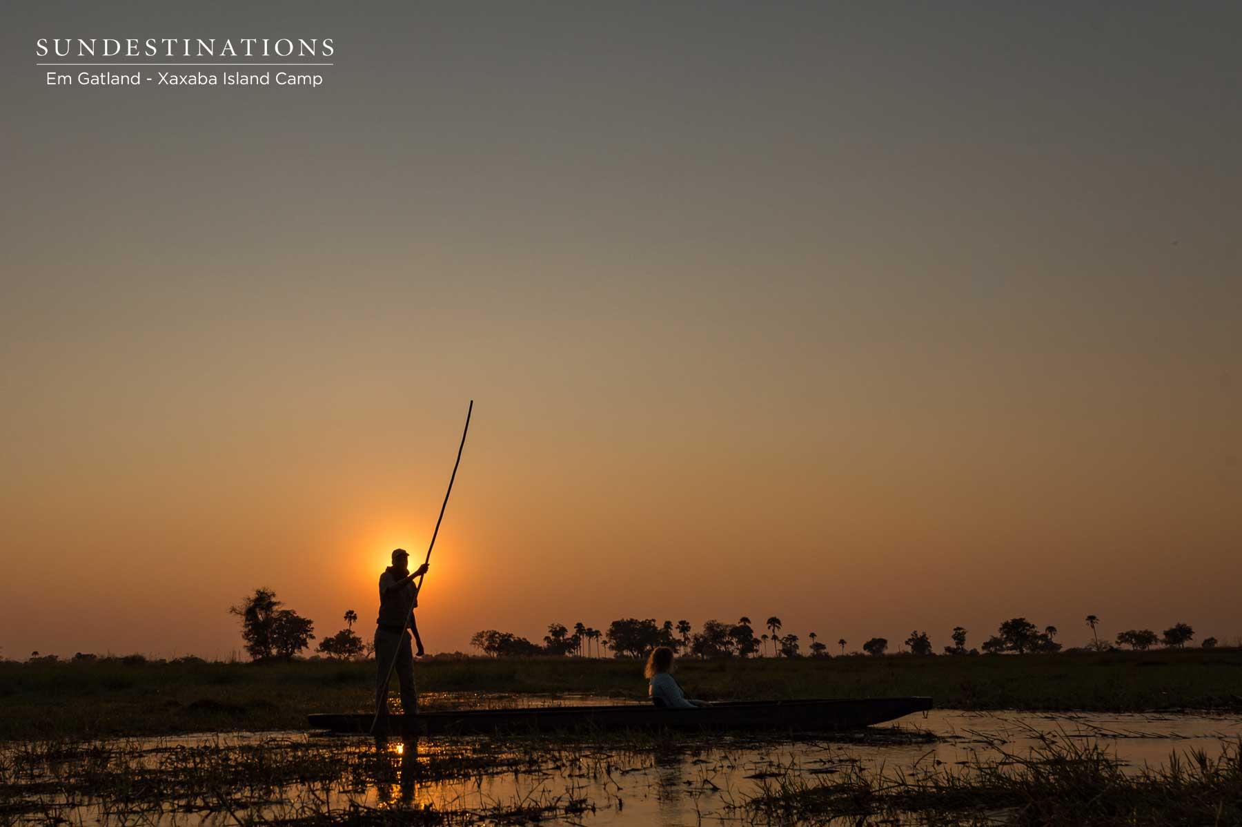 Botswana Sunsets at Xaxaba