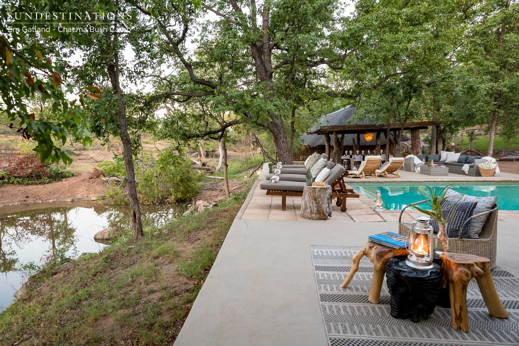 Maseke's Chacma Bush Camp : Videos and Images of the Refurb