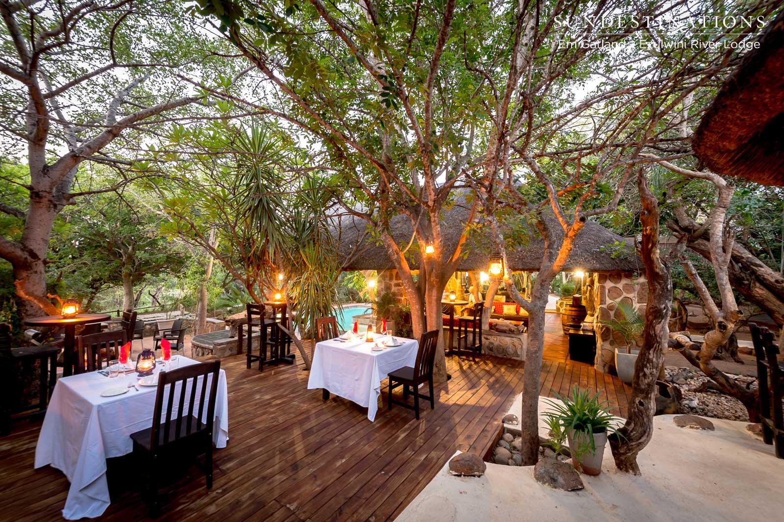 Ezulwini River Lodge Dining