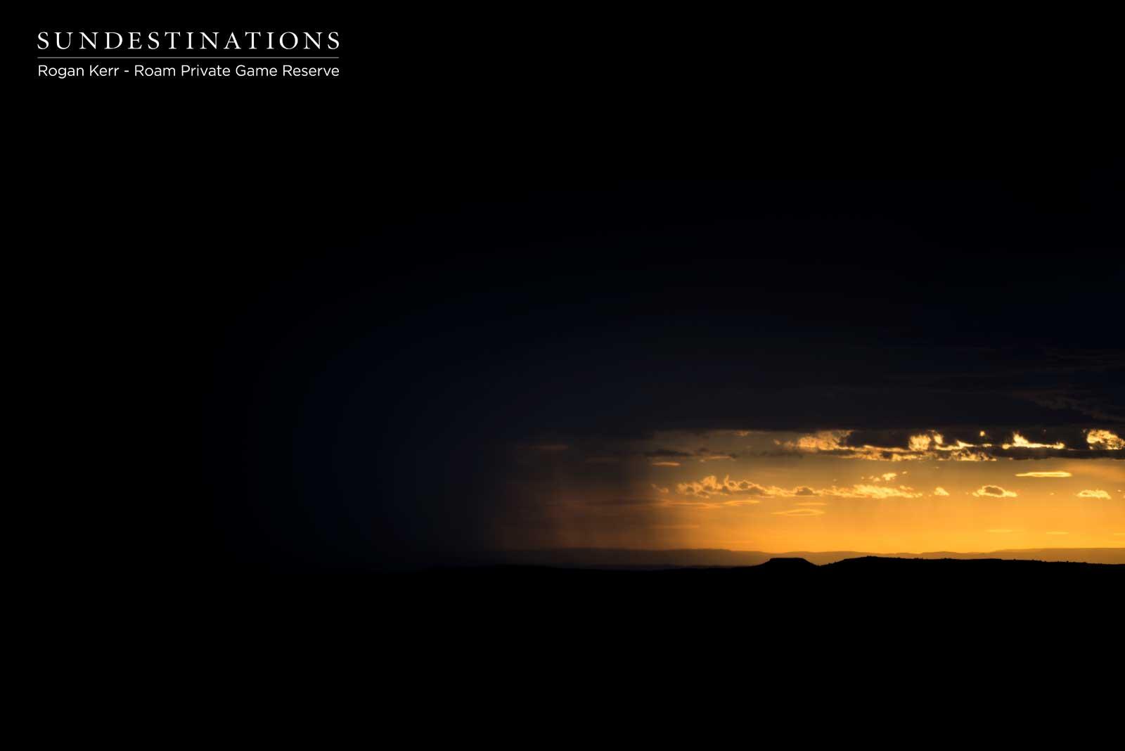 Haunting Image of Karoo Landscape