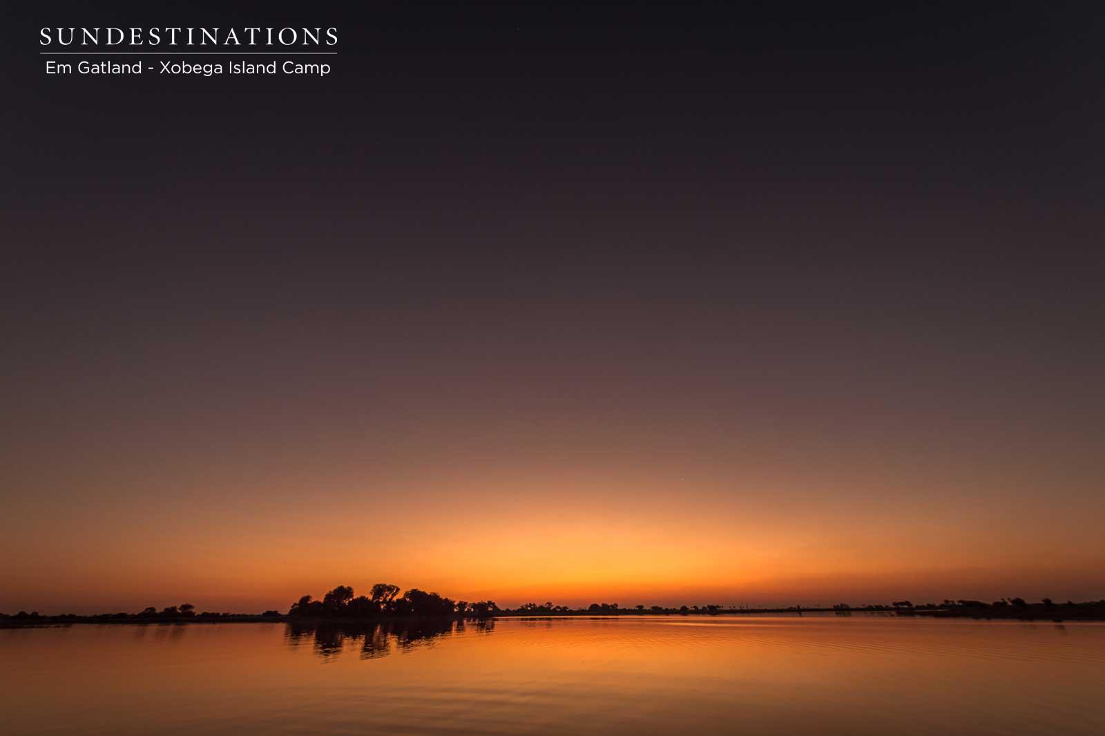 Xobega Sunrise Botswana