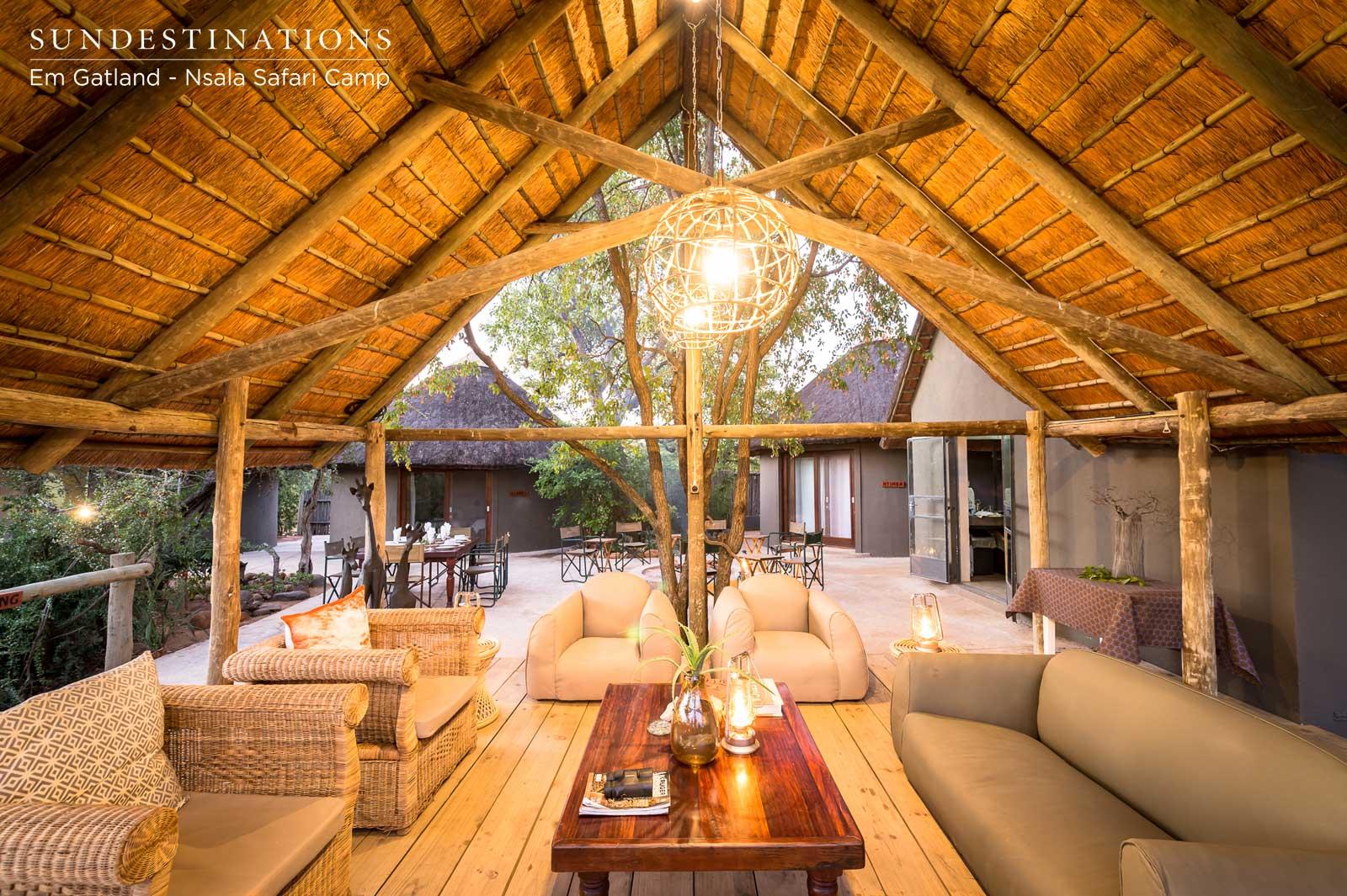 Nsala Safari Camp Lounge