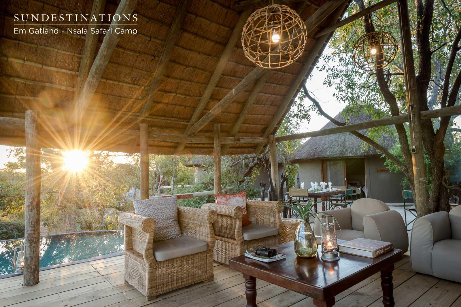 Nsala Safari Camp Wooden Deck