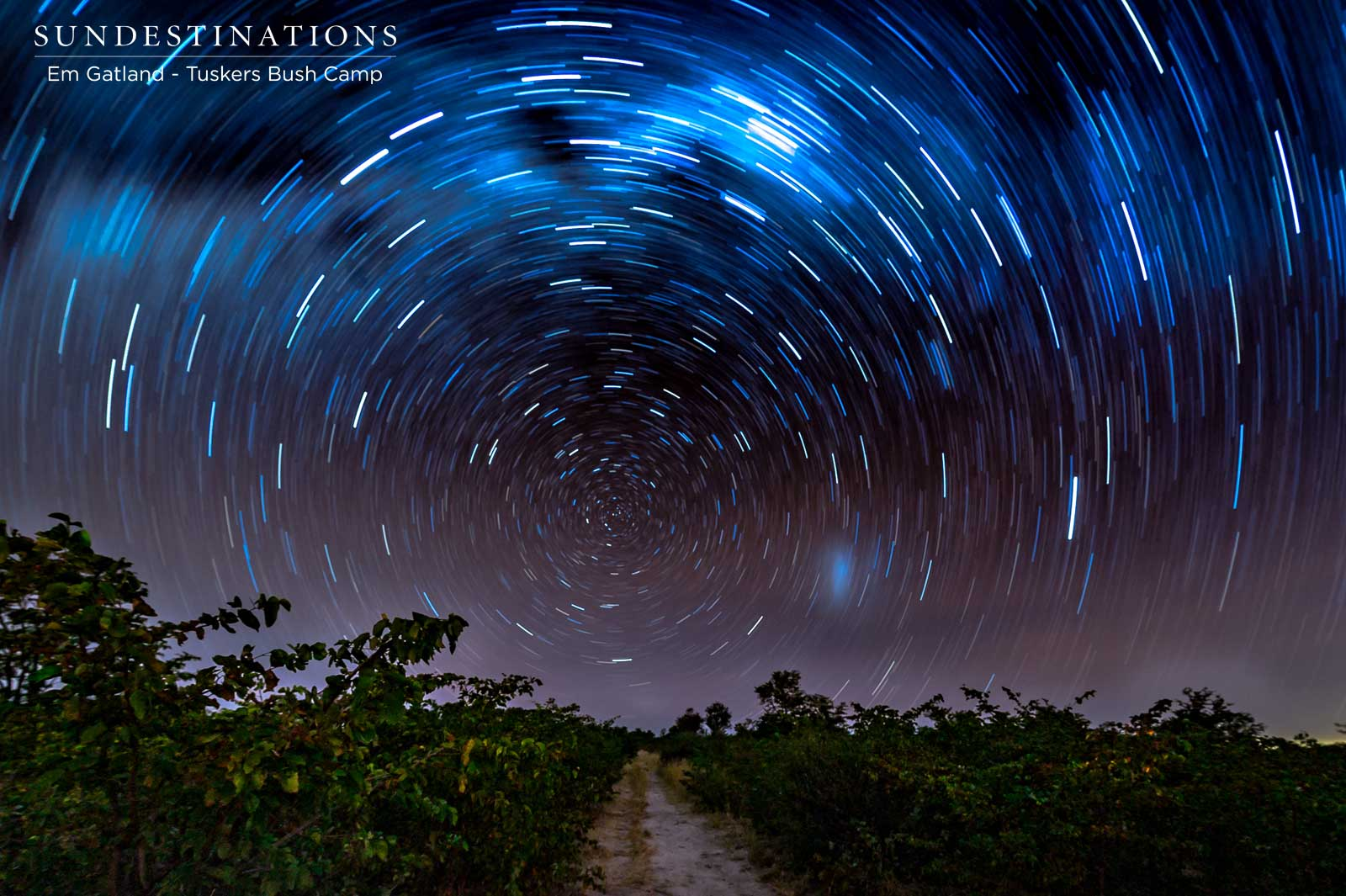 Star Trails at Tuskers Bush Camp