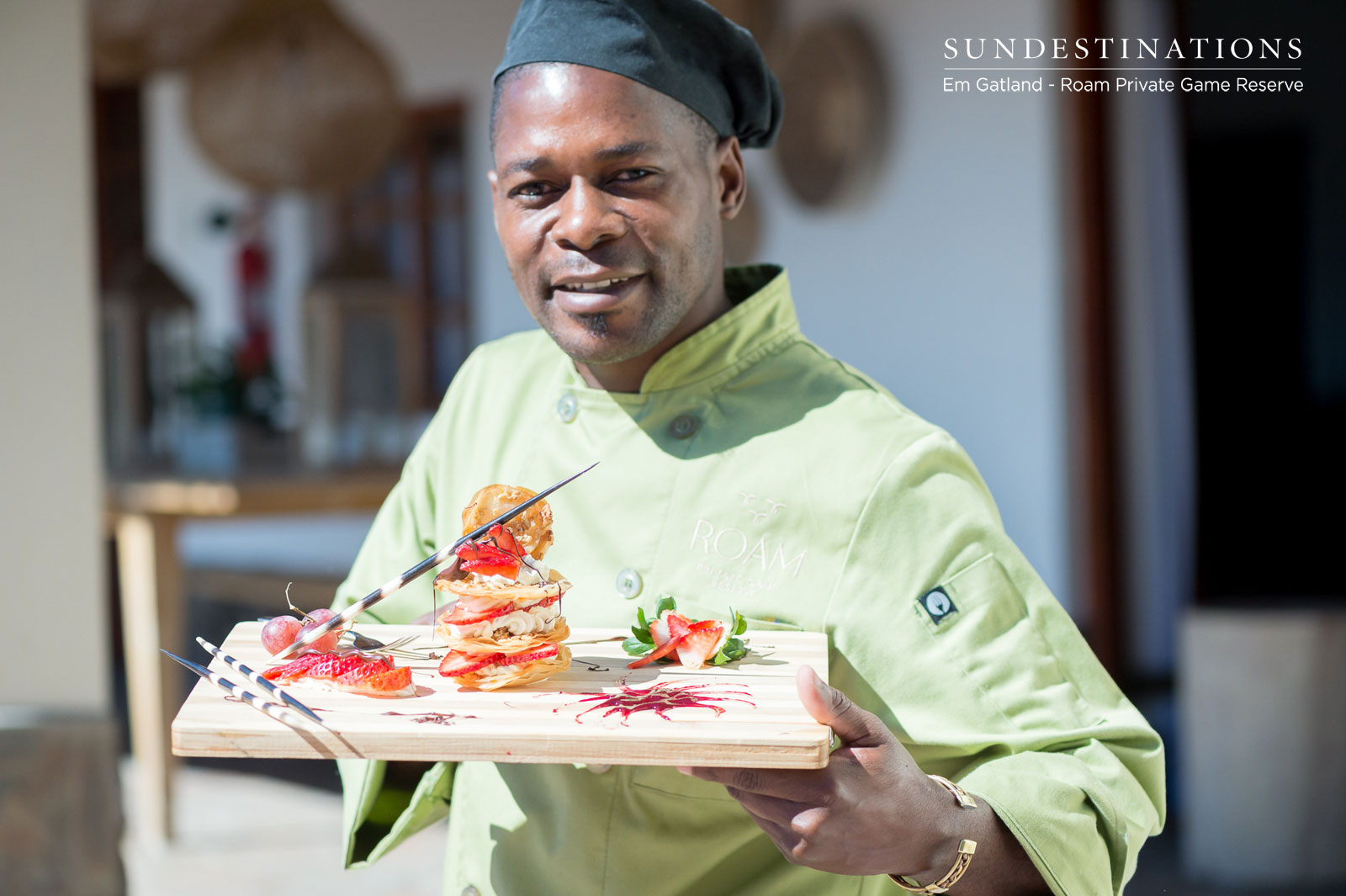 Roam Safari Lodge Chef