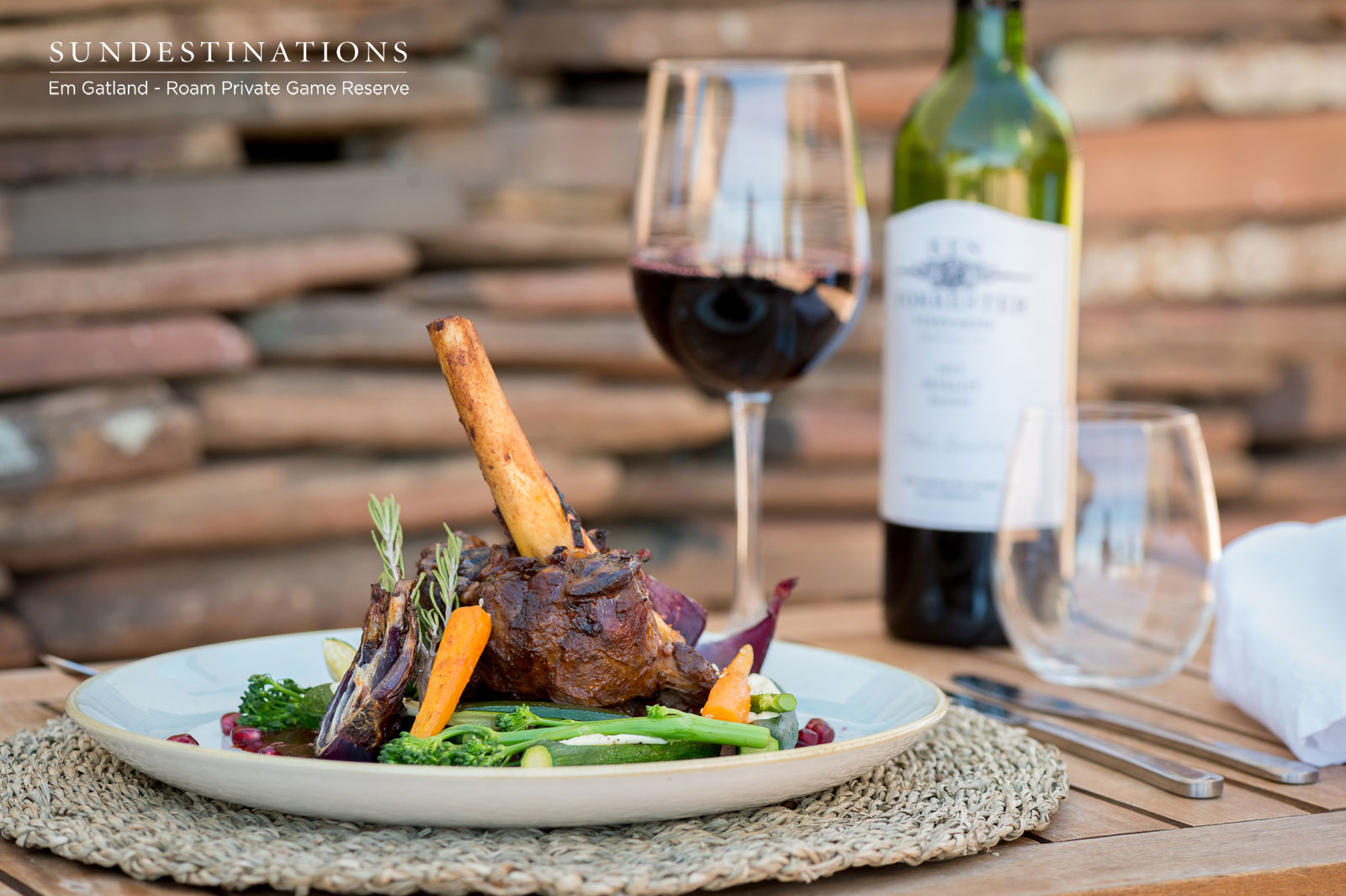 Gourmet Country Fare at Roam Safari Lodge in the Karoo