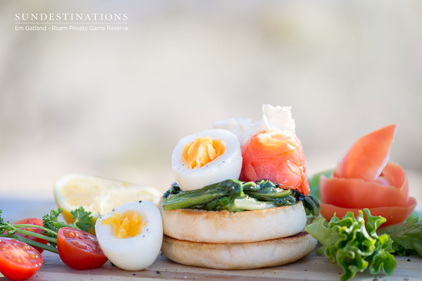 Salmon Eggs Breakfast