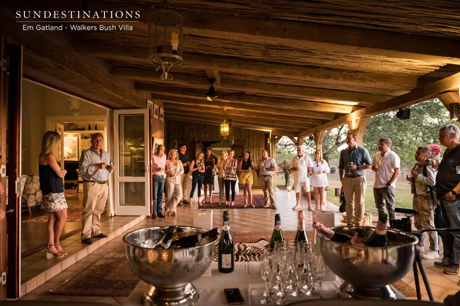 Walkers Bush Villa Official Launch Party ! About Last Night…