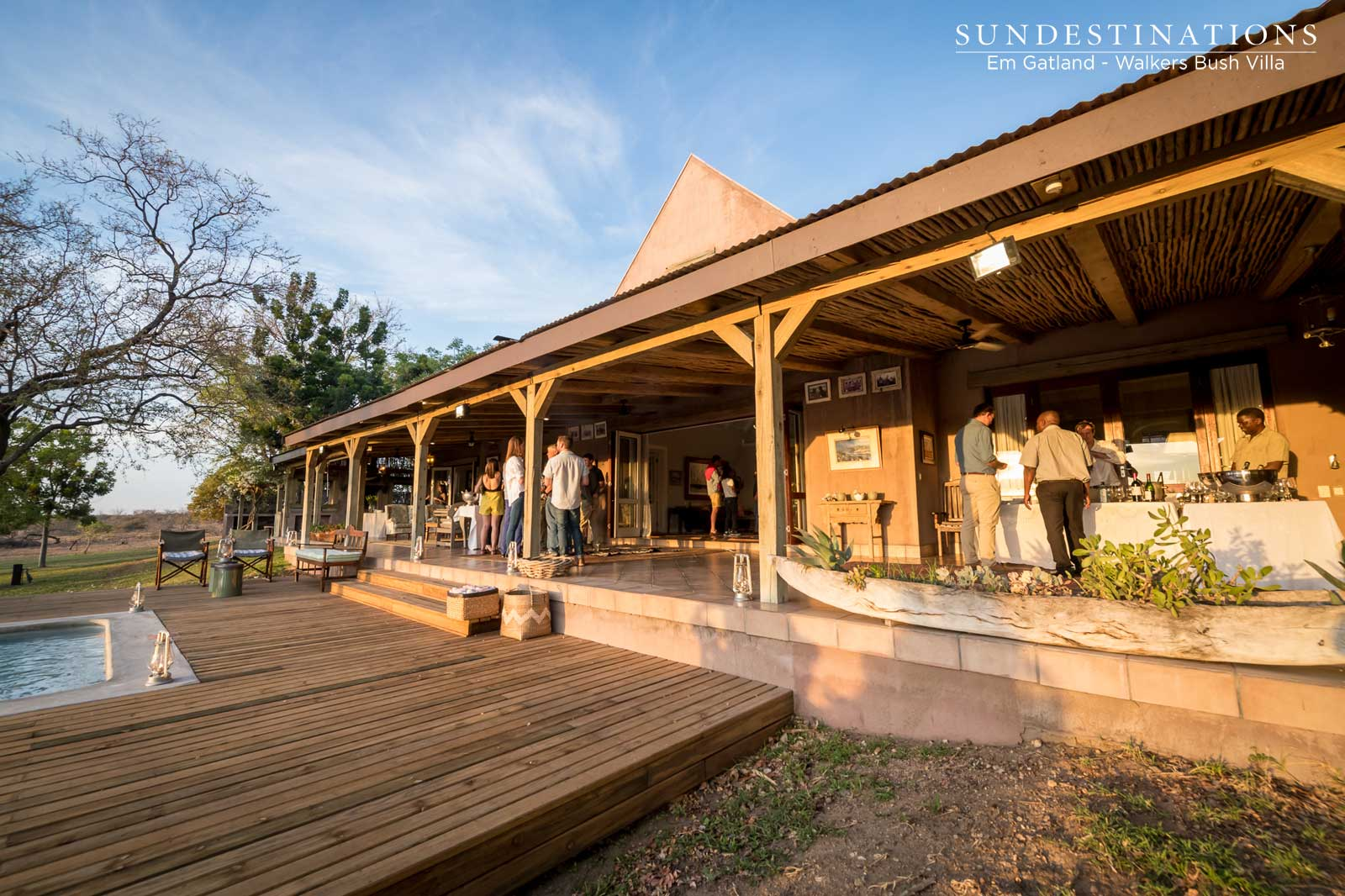 Do the Wild in Style at Walkers Bush Villa