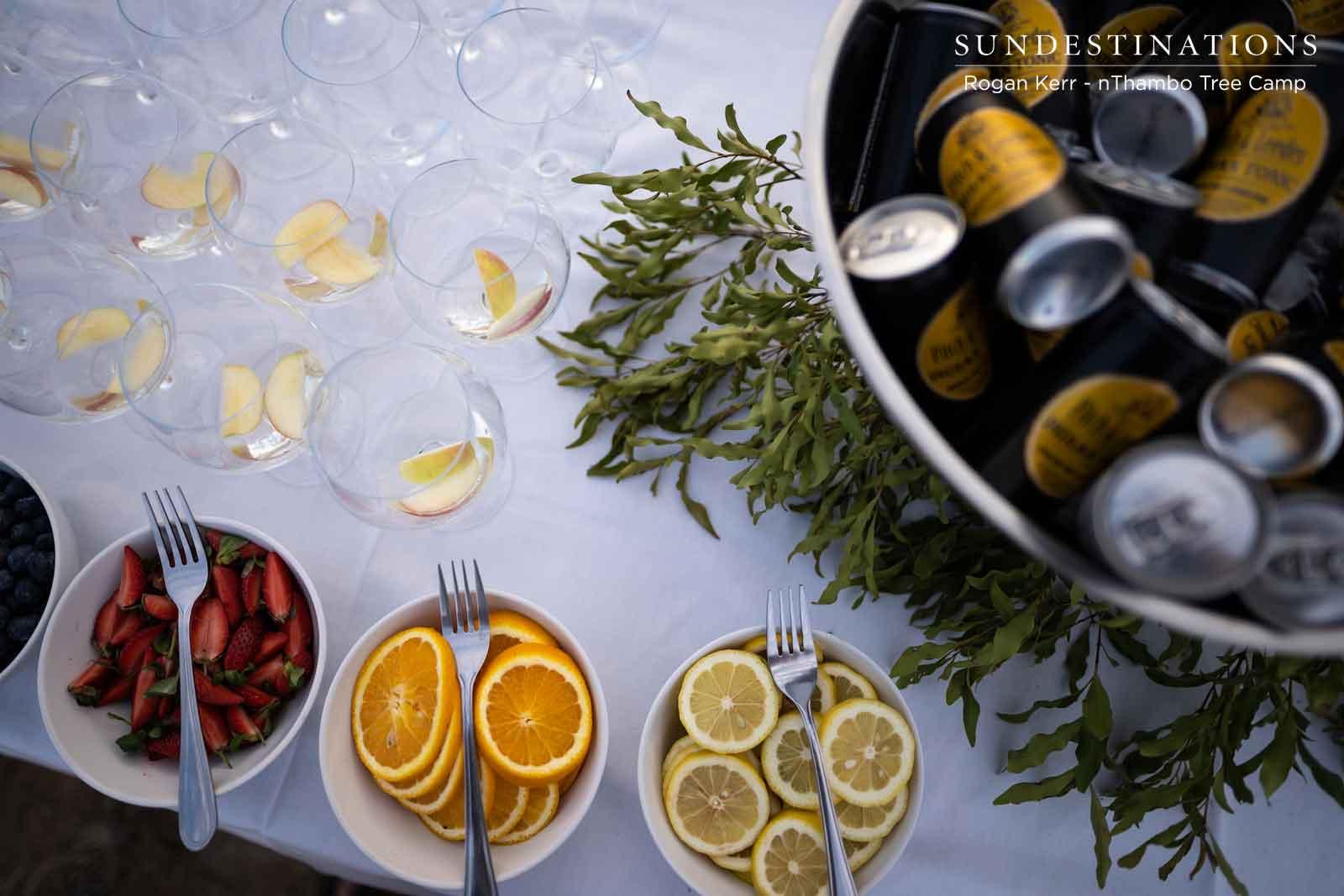 nThambo Gin and Tonics
