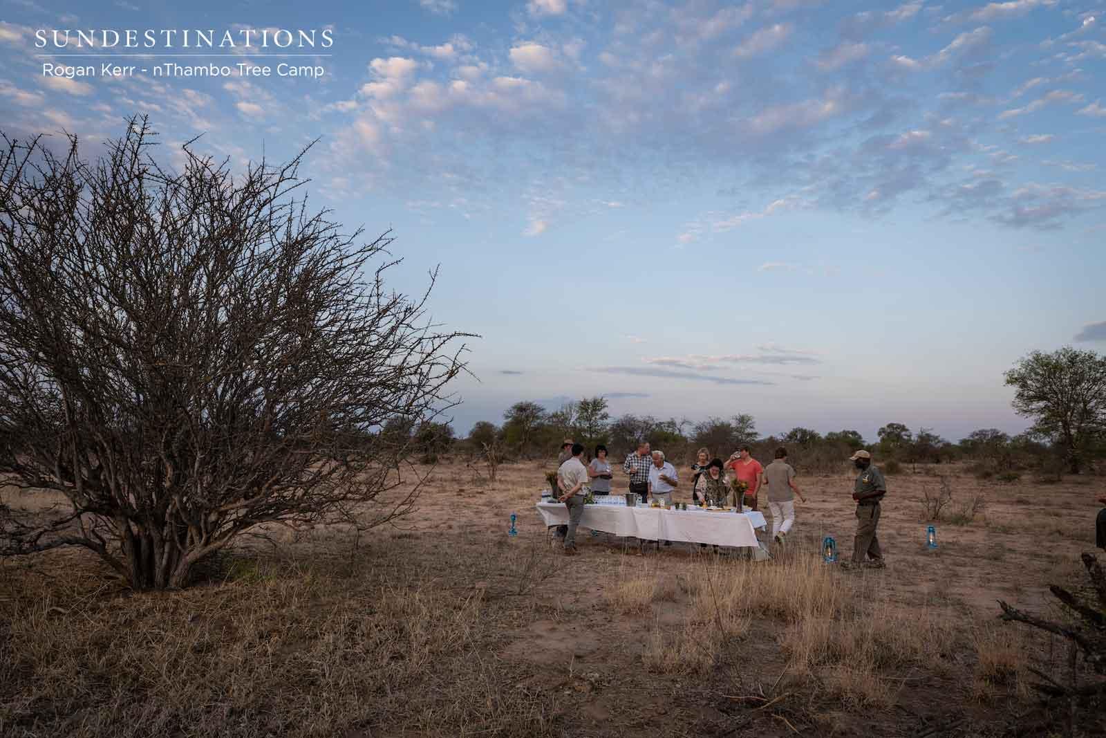 nThambo Tables in Klaserie
