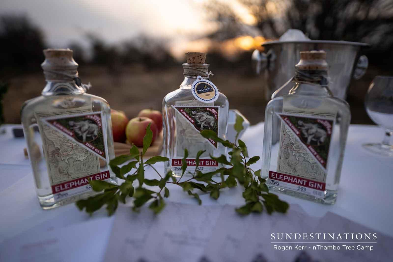 Elephant Gin Tasting Session in Kruger