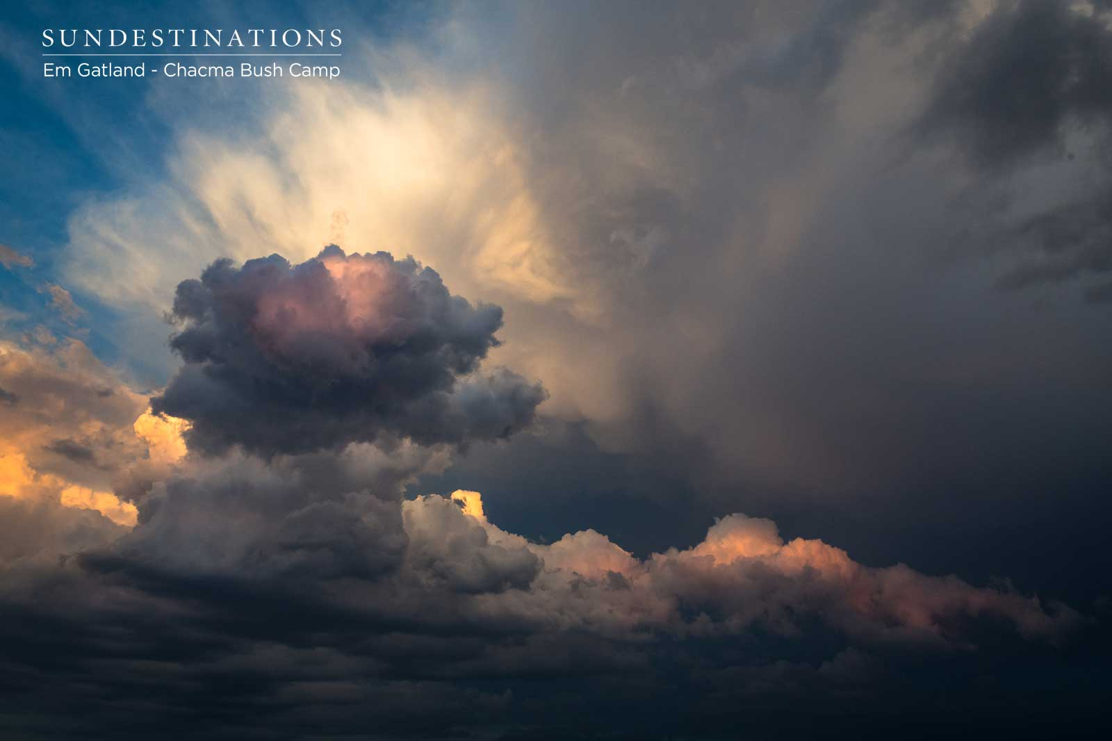 Thunderclouds at Chacma