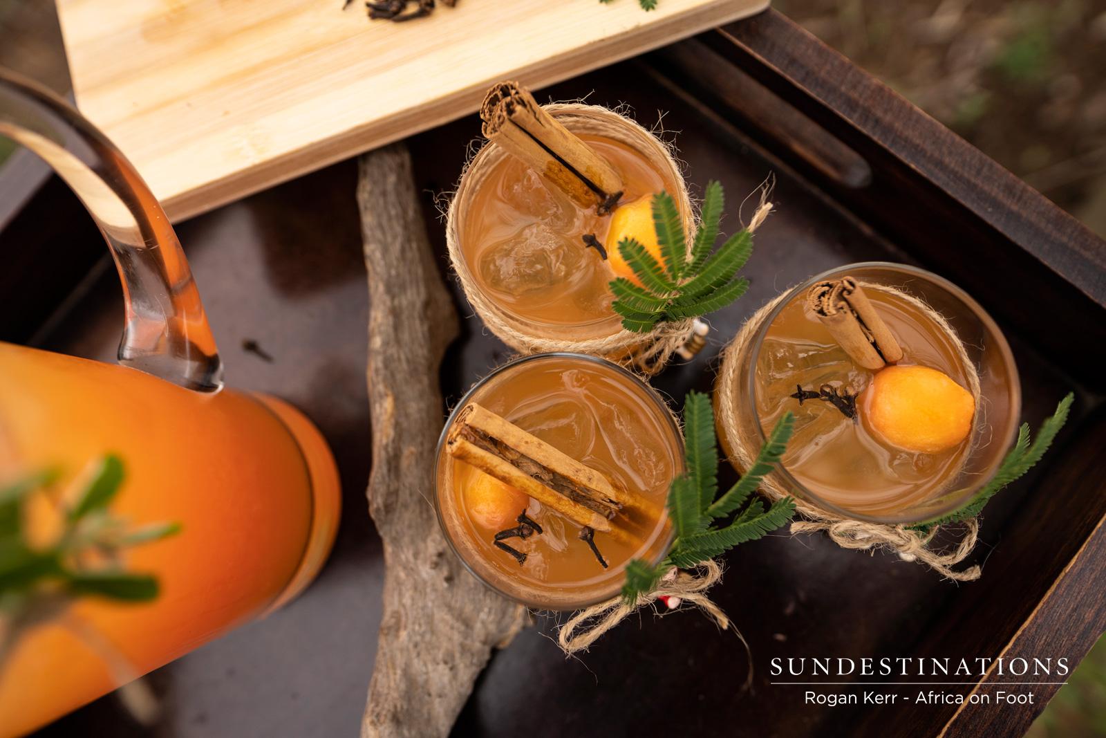 Cocktails in the Klaserie