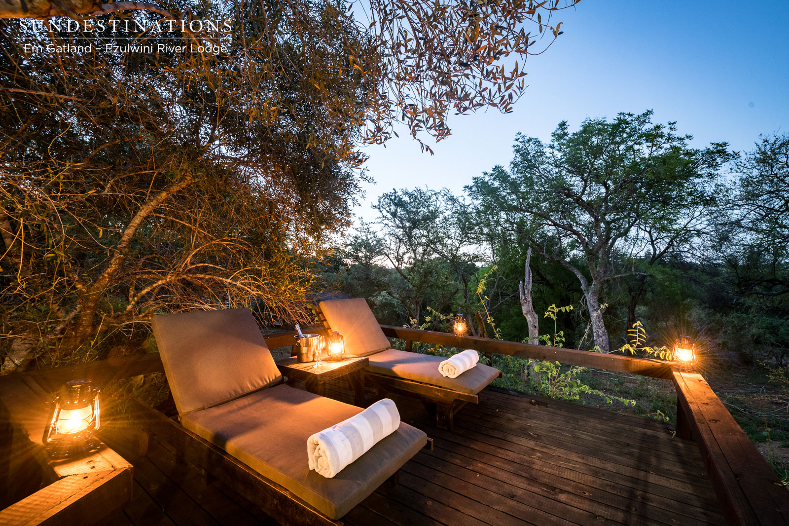 The Loved-up Luxury Honeymoon Suite at Ezulwini River Lodge