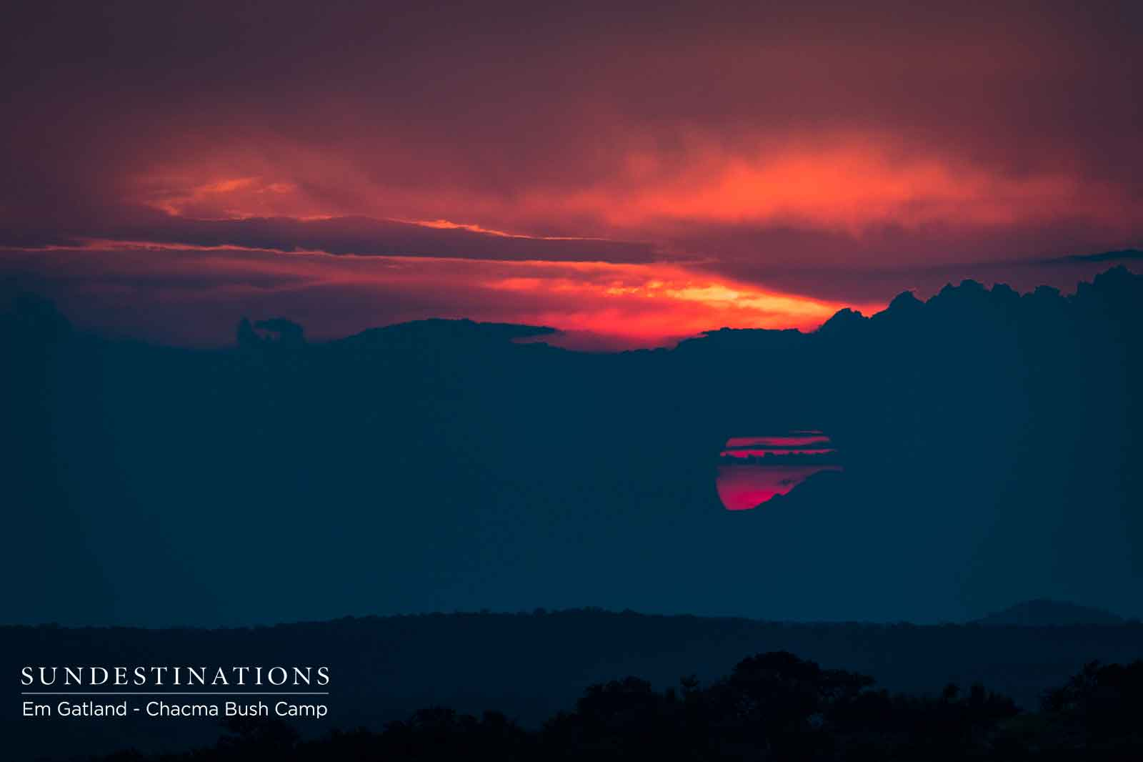Sunset Views Over the Drakensberg